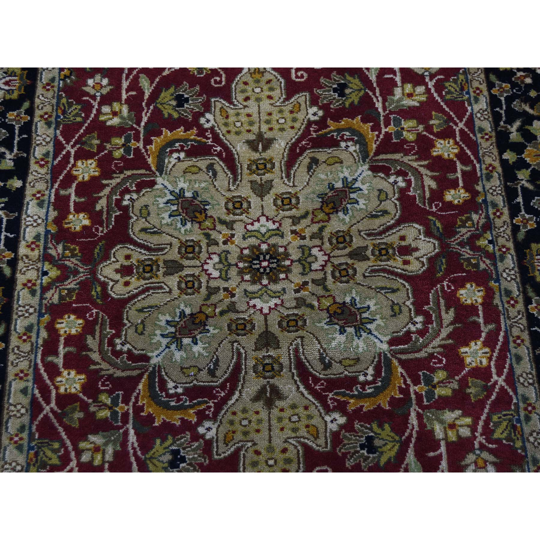 2-6 x12- Runner 300 KPSI Kashan Revival New Zealand Wool Oriental Rug