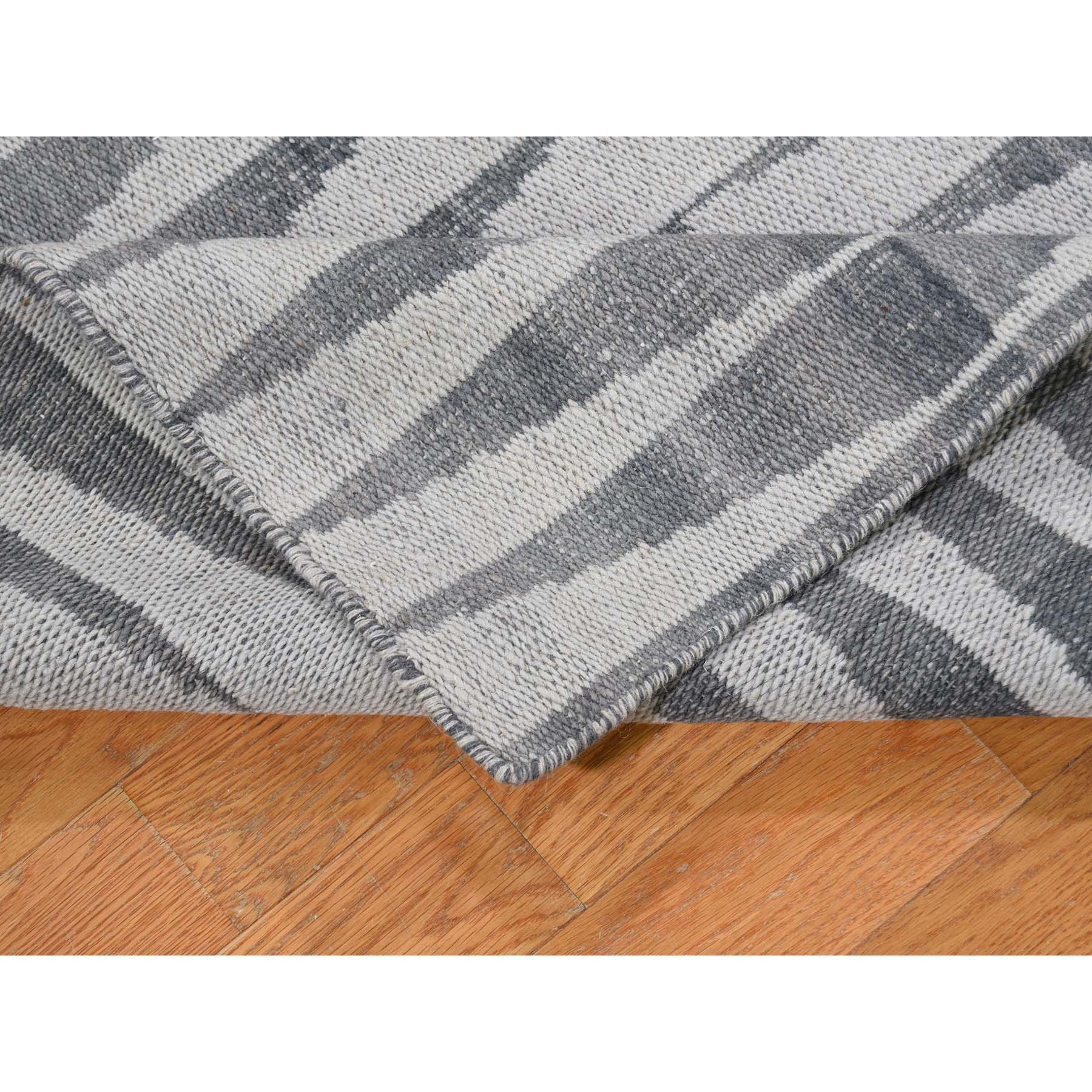 "2'7""x11'8"" Flat Weave Hand Woven Durie Kilim Reversible Oriental Rug"