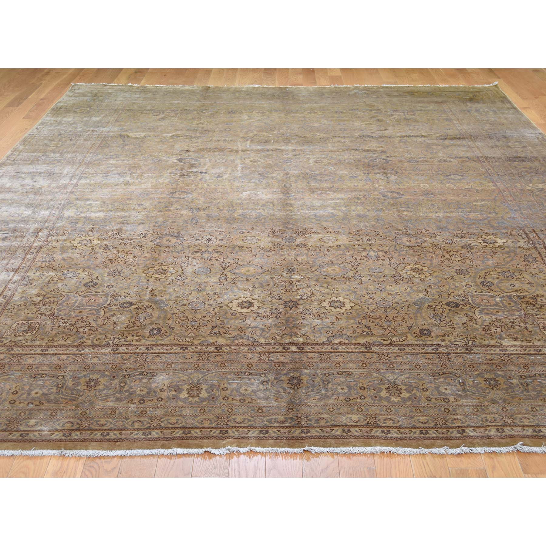 8-7 x11-8  Old Turkish Sivas Good Condition Hand-Knotted Oriental Rug