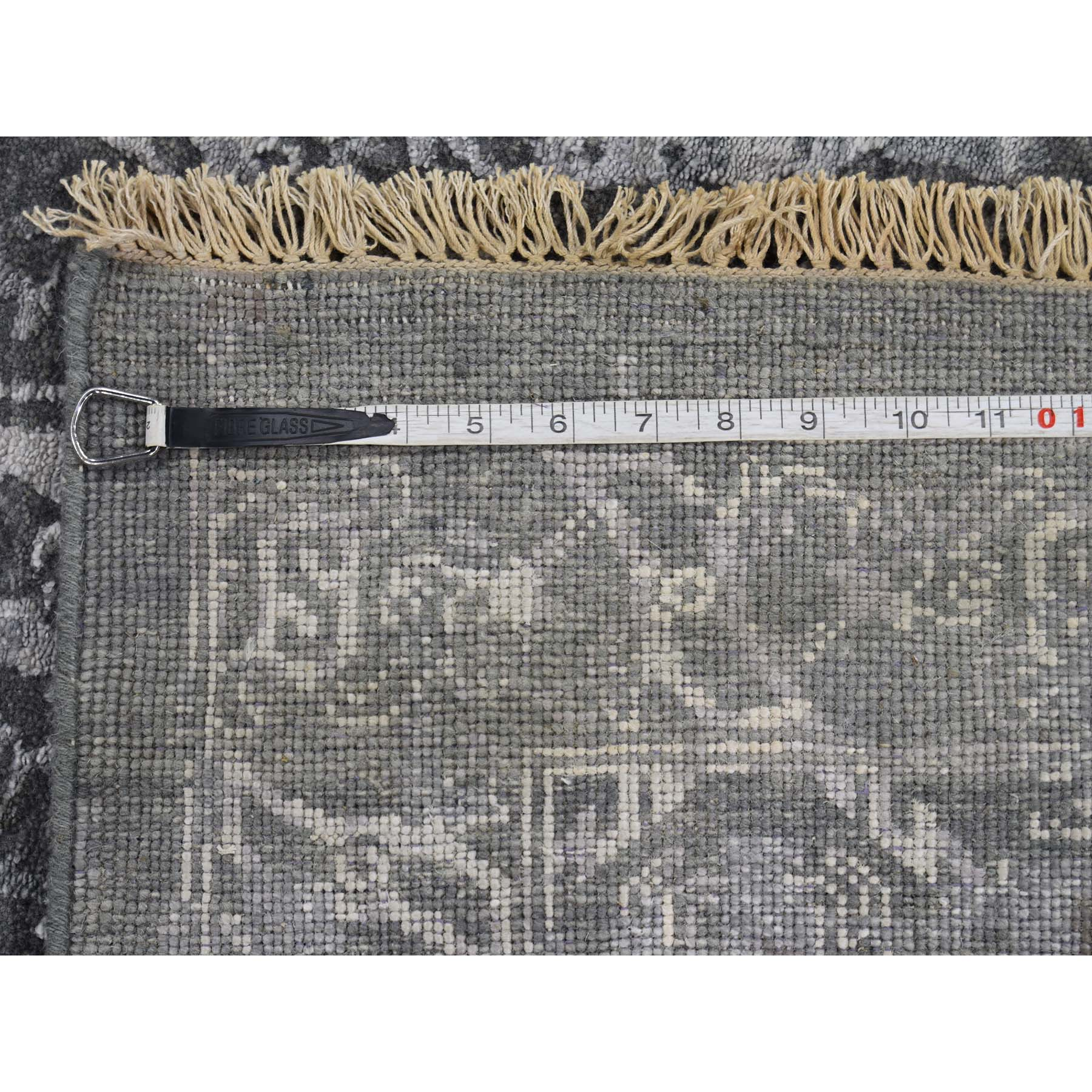 """9'x11'9"""" Broken Persian Design Wool And Silk Hand-Knotted Oriental Rug"""