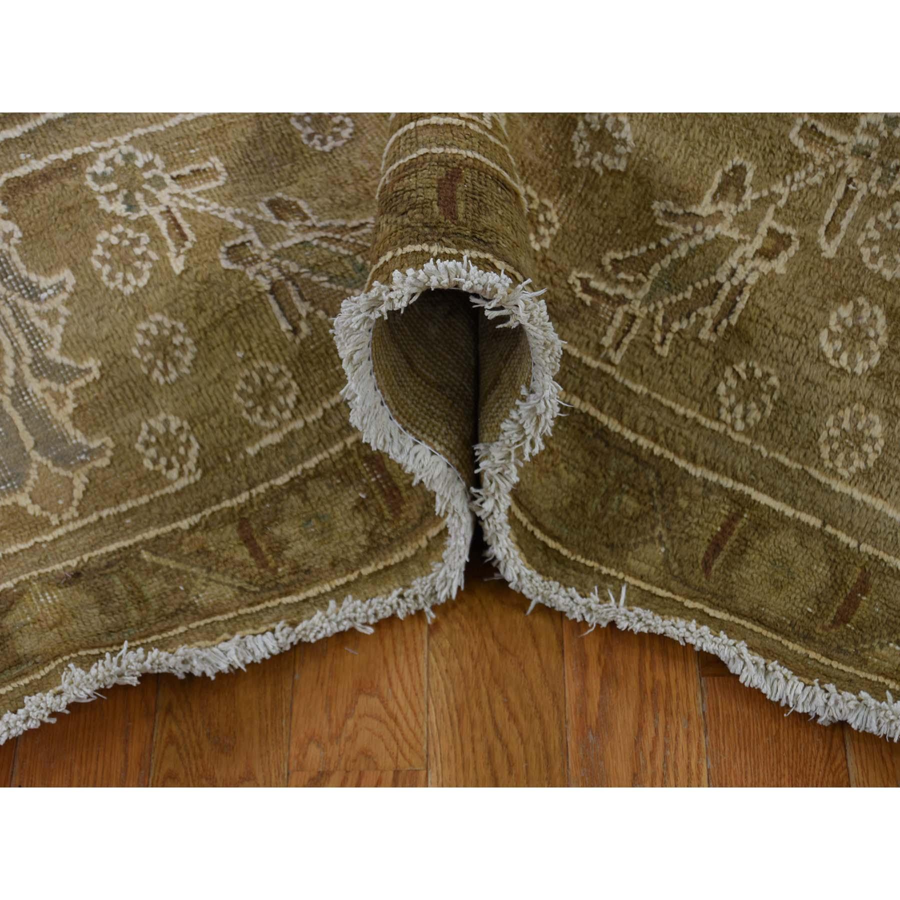 10-1 x13- Hand-Knotted Pure Wool Vintage Tabriz Oriental Rug