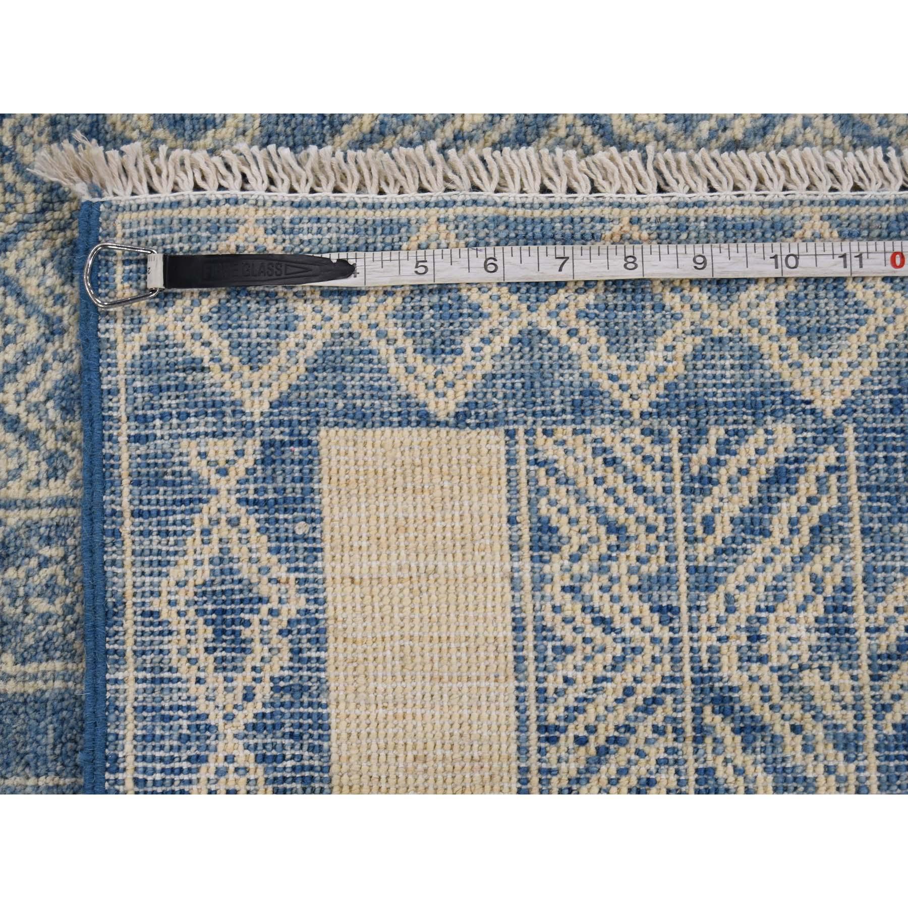 7-10 x9-8   Peshawar Berber Design Pure Wool Southwestern Influence Rug