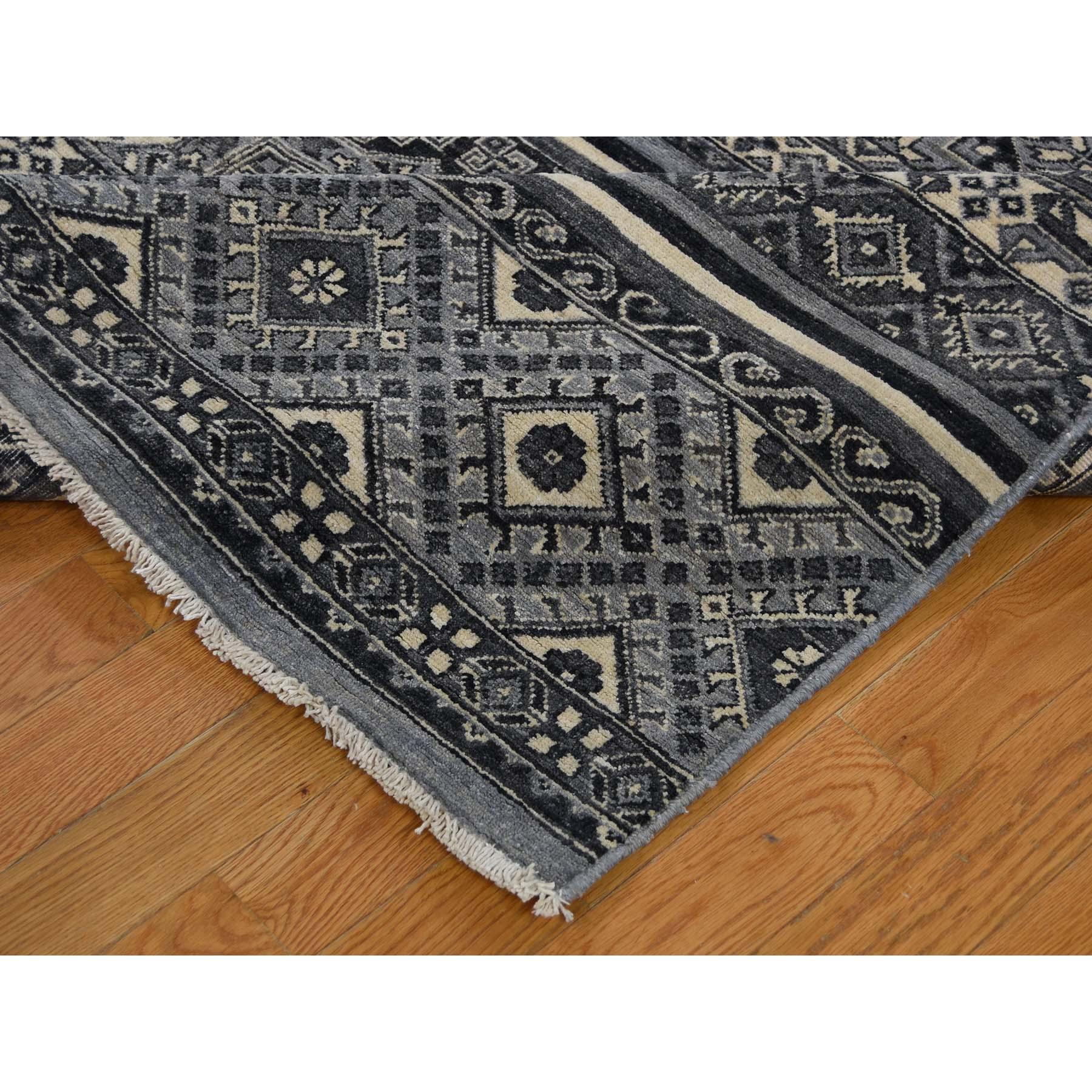 10-x13-5  Khorjin Design Super Kazak Hand-Knotted Pure Wool Oriental Rug