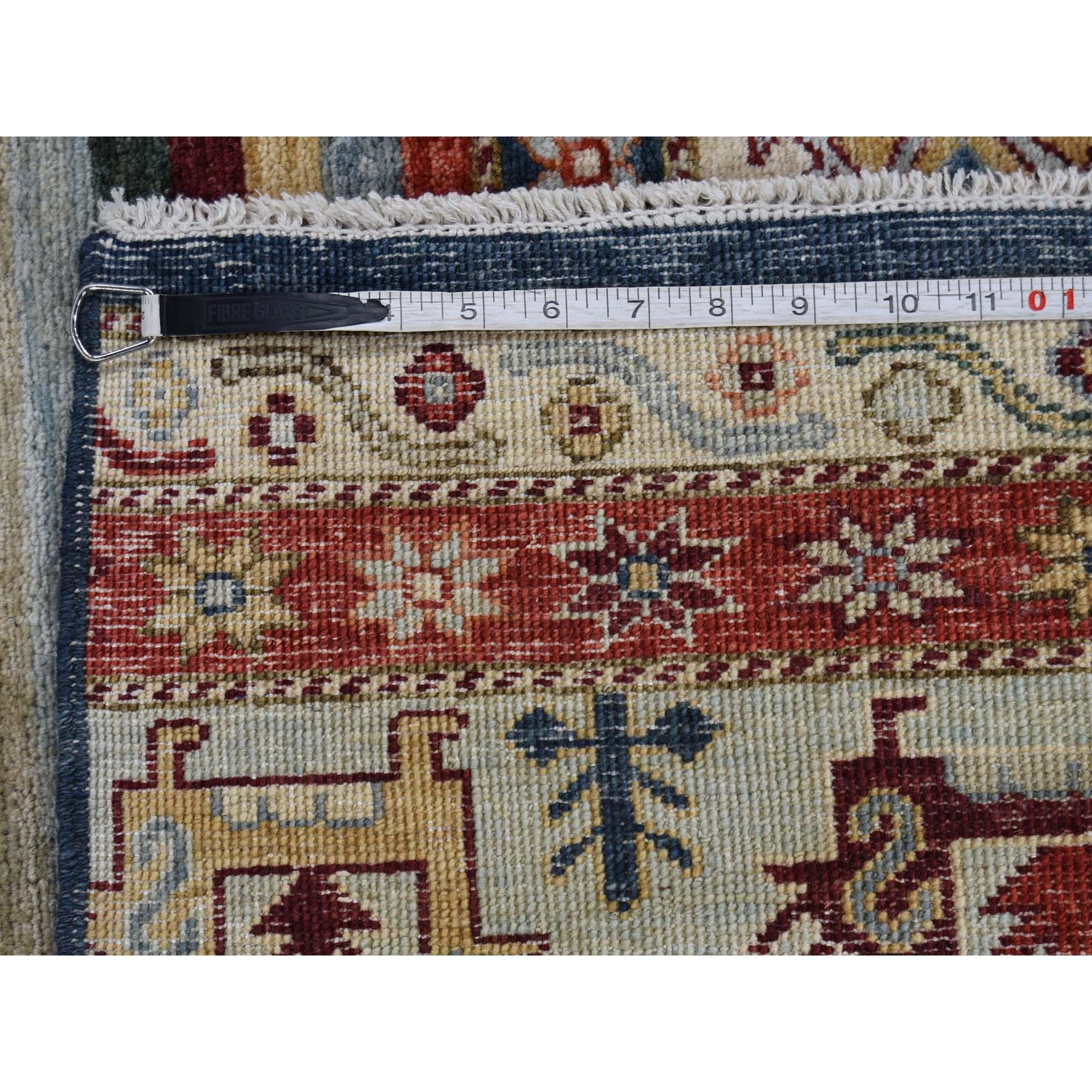 10-3 x13-7  Khorjin Design Super Kazak Hand-Knotted Pure Wool Oriental Rug