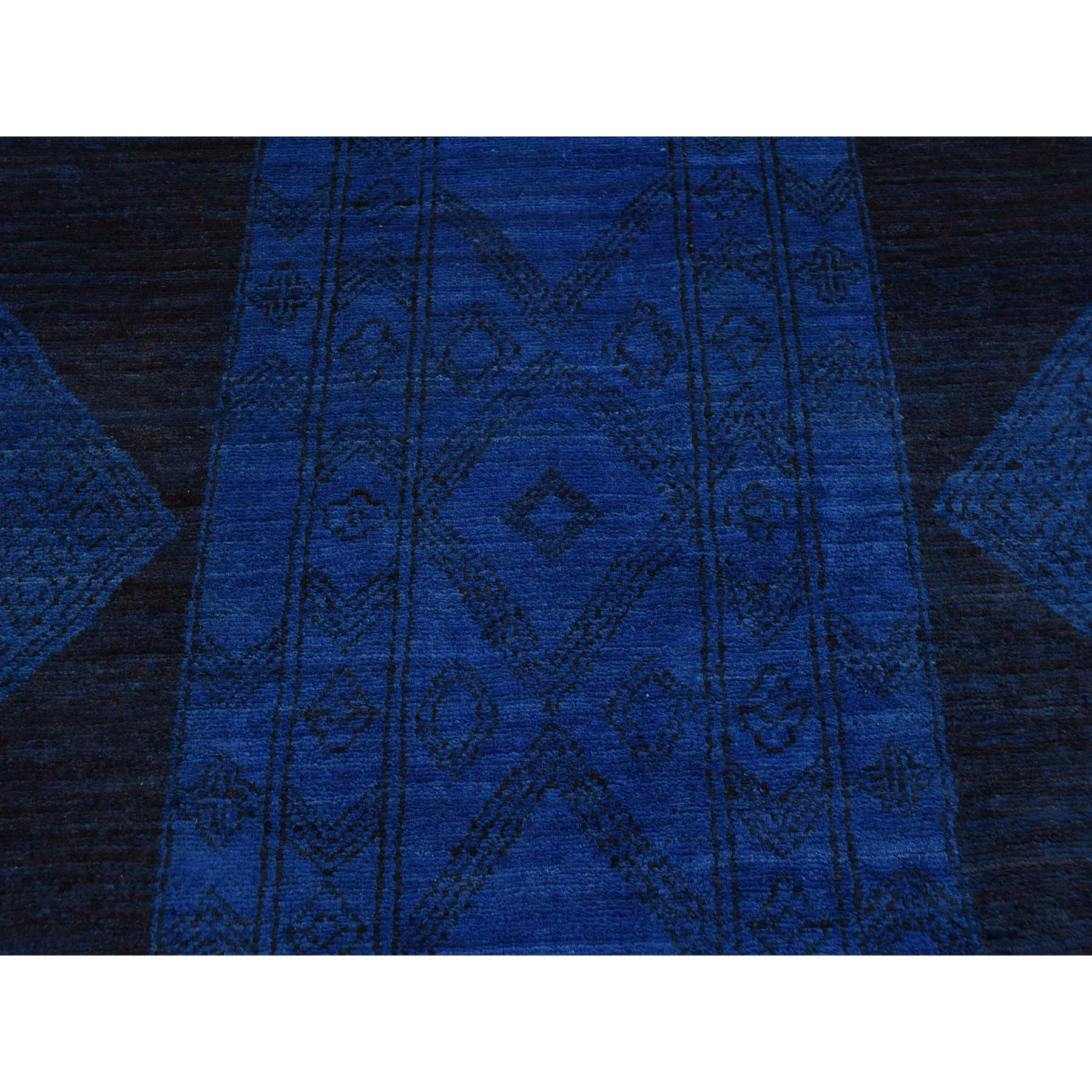 10-x13-1  Hand-Knotted South West Design Berber Motifs Oriental Rug