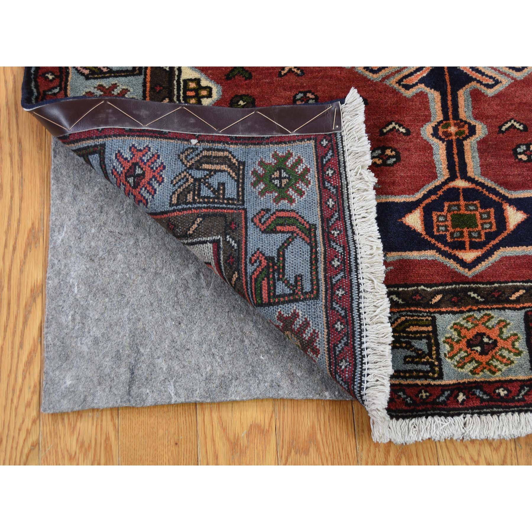 3-5 x6-8  Pure Wool Hand-Knotted New Persian Hamadan Oriental Rug