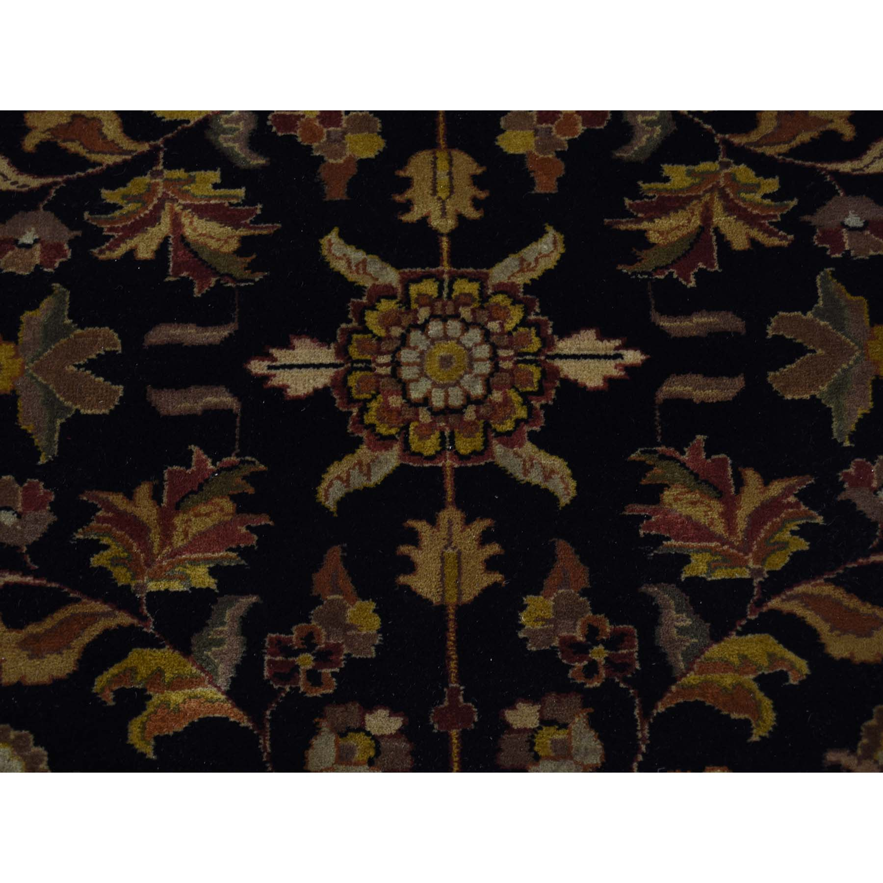 10-x10-1  New Zealand Wool Tabriz 300 KPSI Hand Spun Round Hand-Knotted Oriental Rug
