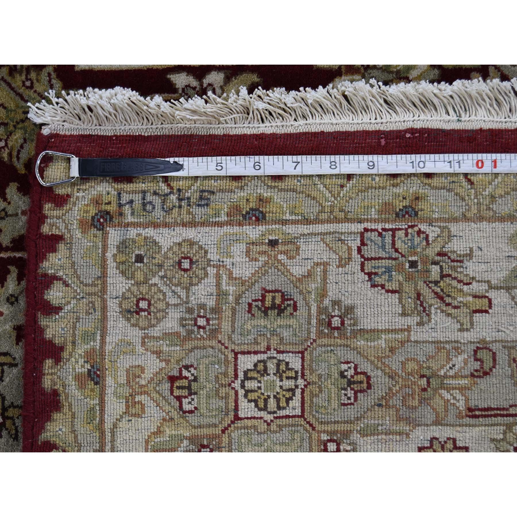6-2 x9- 300 Kpsi New Zealand Wool Tabriz Design Hand-Knotted Oriental Rug