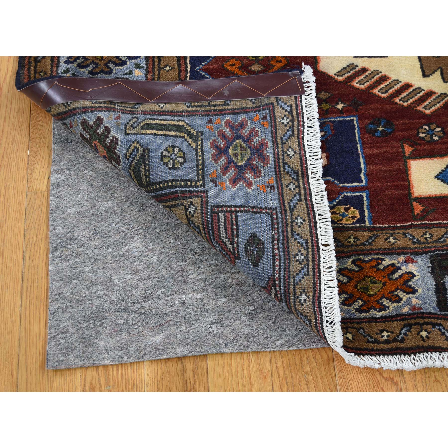 4-5 x6-6  Pure Wool Hand-Knotted New Persian Malayer Oriental Rug