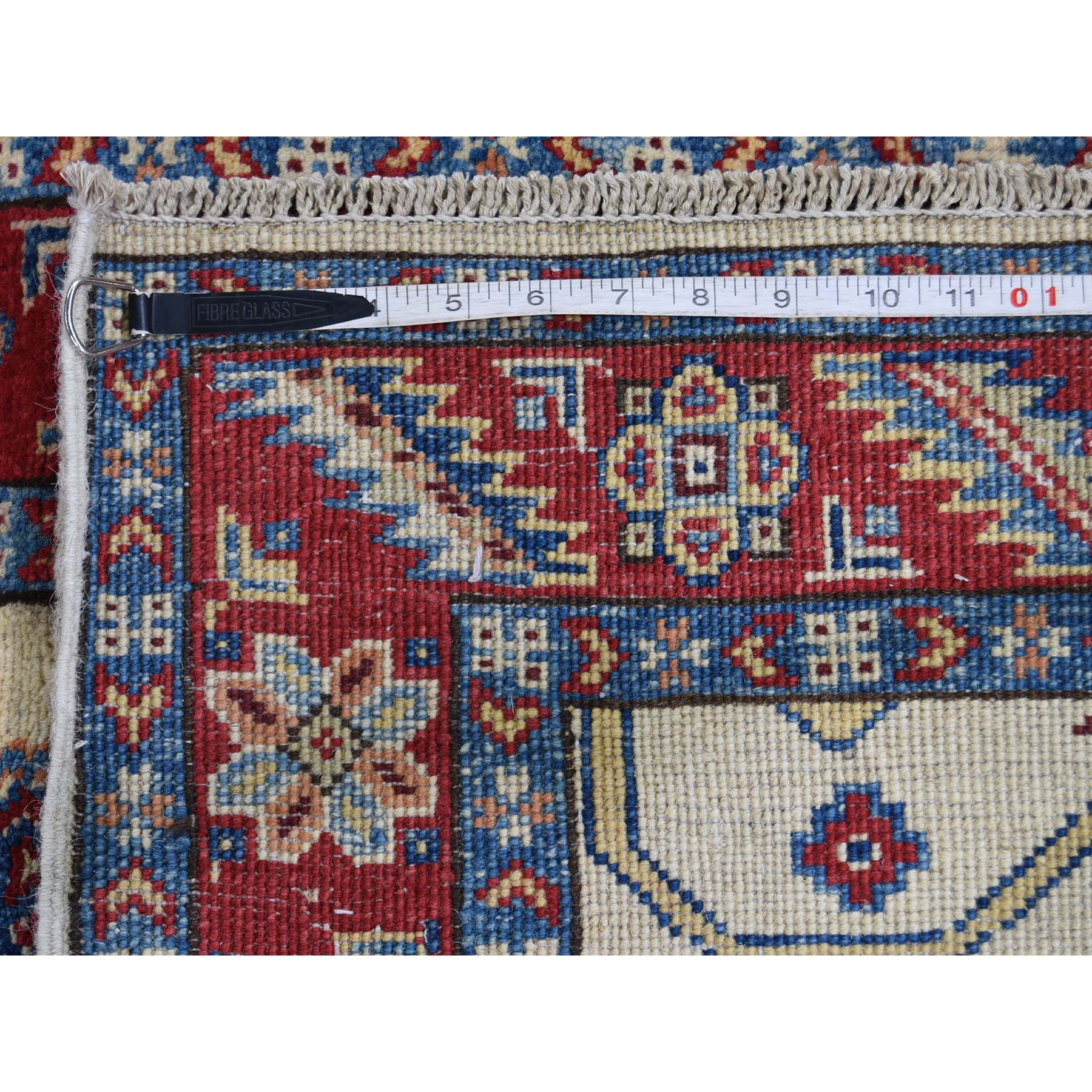 2-8 x9-4  Special Kazak Pure Wool Hand-Knotted Runner Oriental Rug