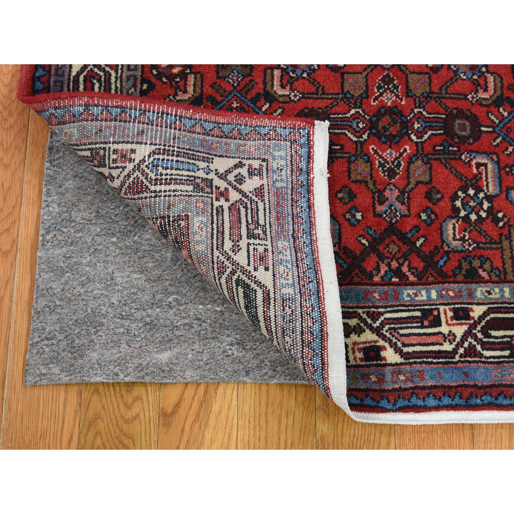 2-10 x10-1  Pure Wool Hand-Knotted New Persian Hamadan Runner Oriental Rug