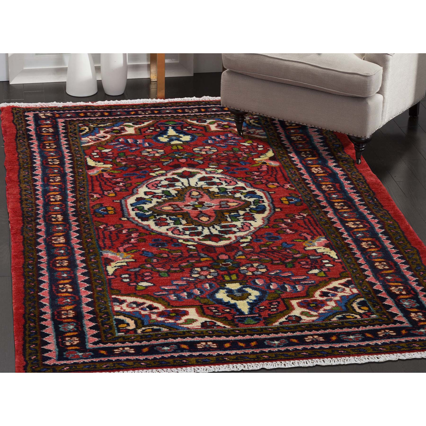 2-7 x4-4  New Persian Lilahan Pure Wool Hand-Knotted Oriental Rug