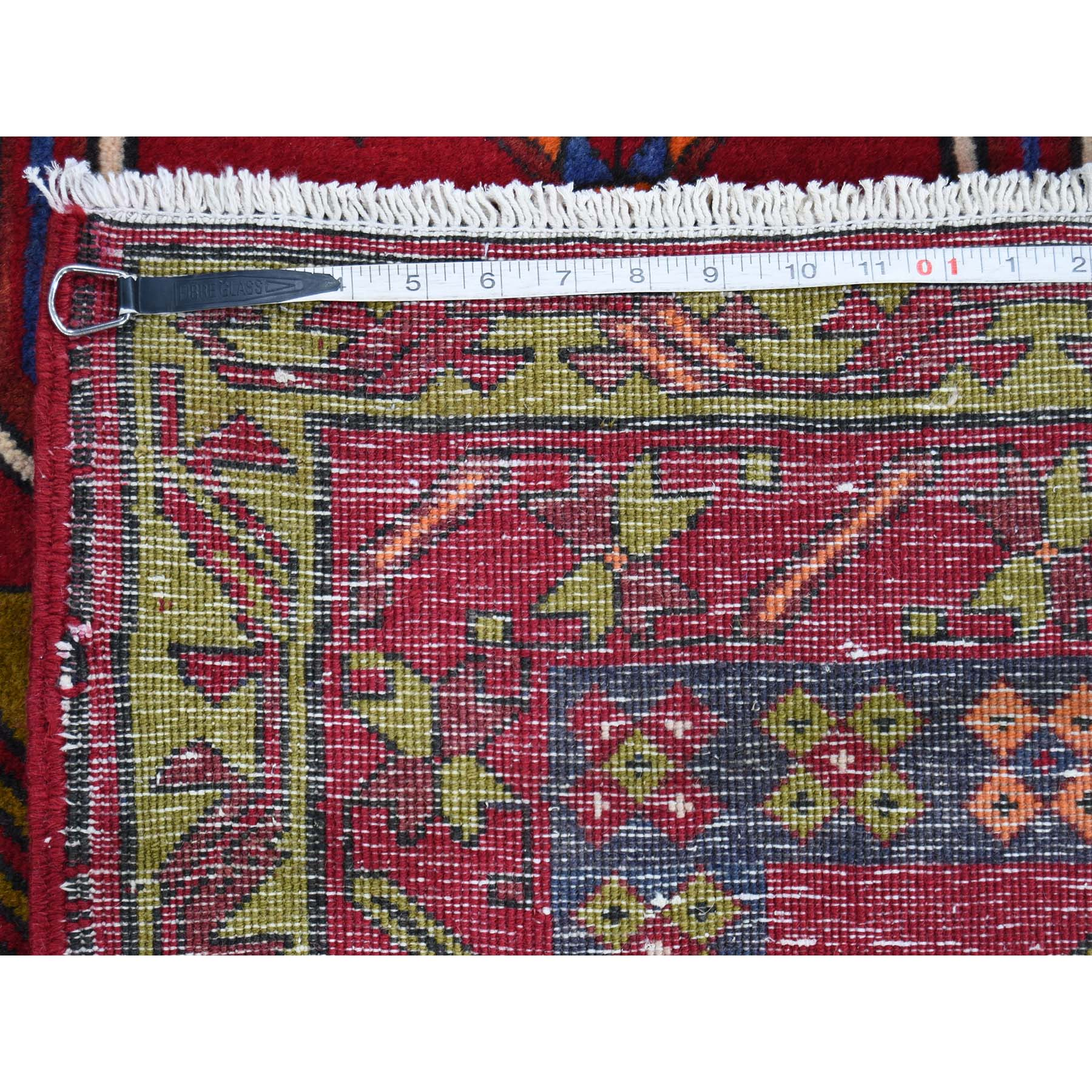 5-x12-5  Pure Wool Semi Northeast Antique Persian Wide Gallery Runner Hand-Knotted Oriental Rug