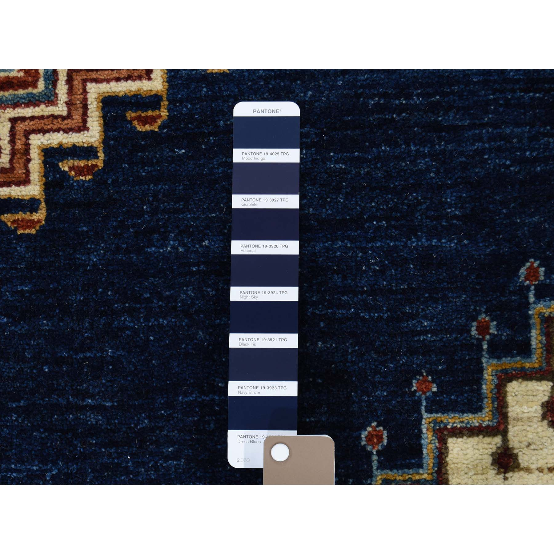 "9'x12'2""  Hand-Knotted Peshawar Heriz With Bakshaish Motifs Oriental Rug"