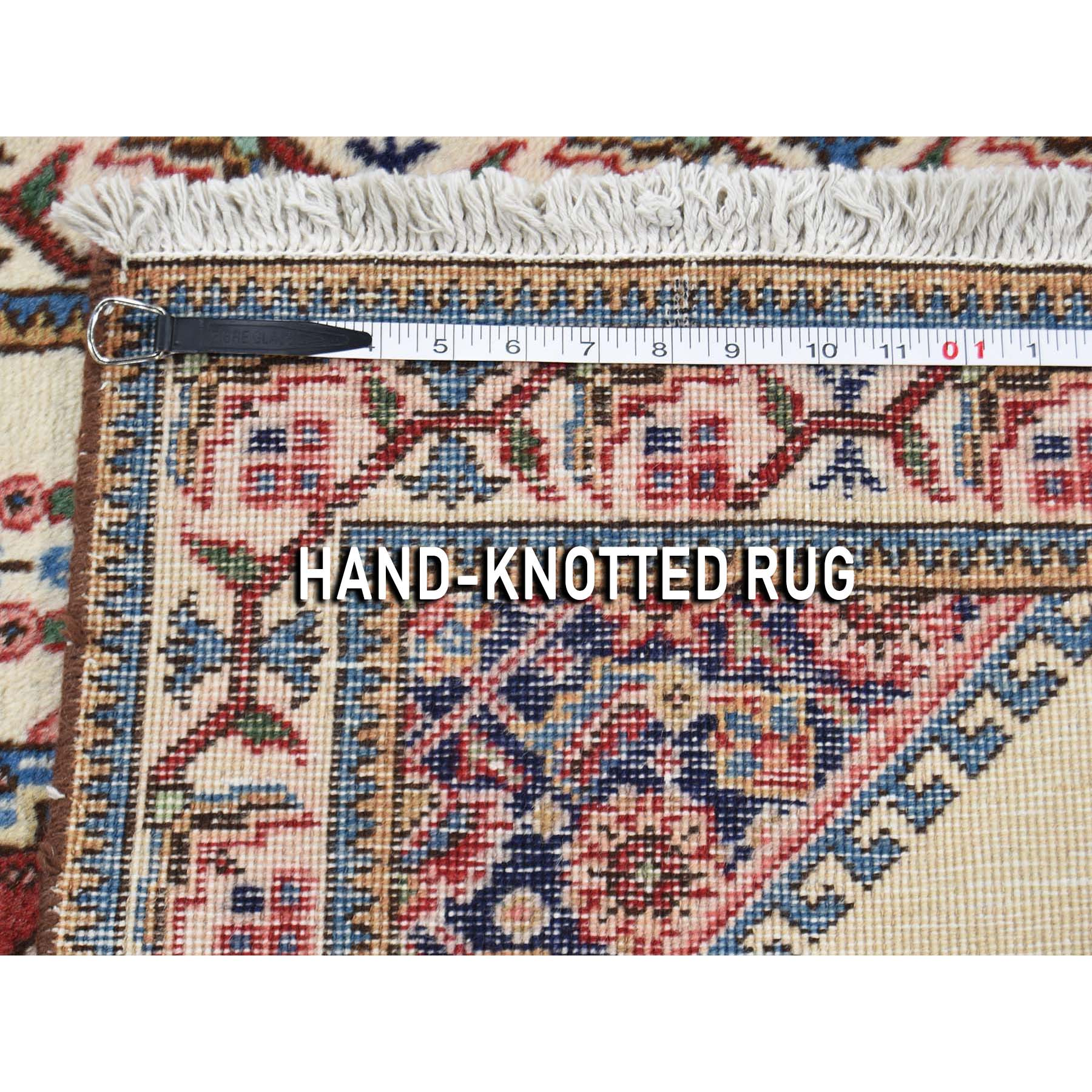 2-7 x4-4  Vintage Persian Tabriz Pure Wool Exc Condition Hand-Knotted Oriental Rug