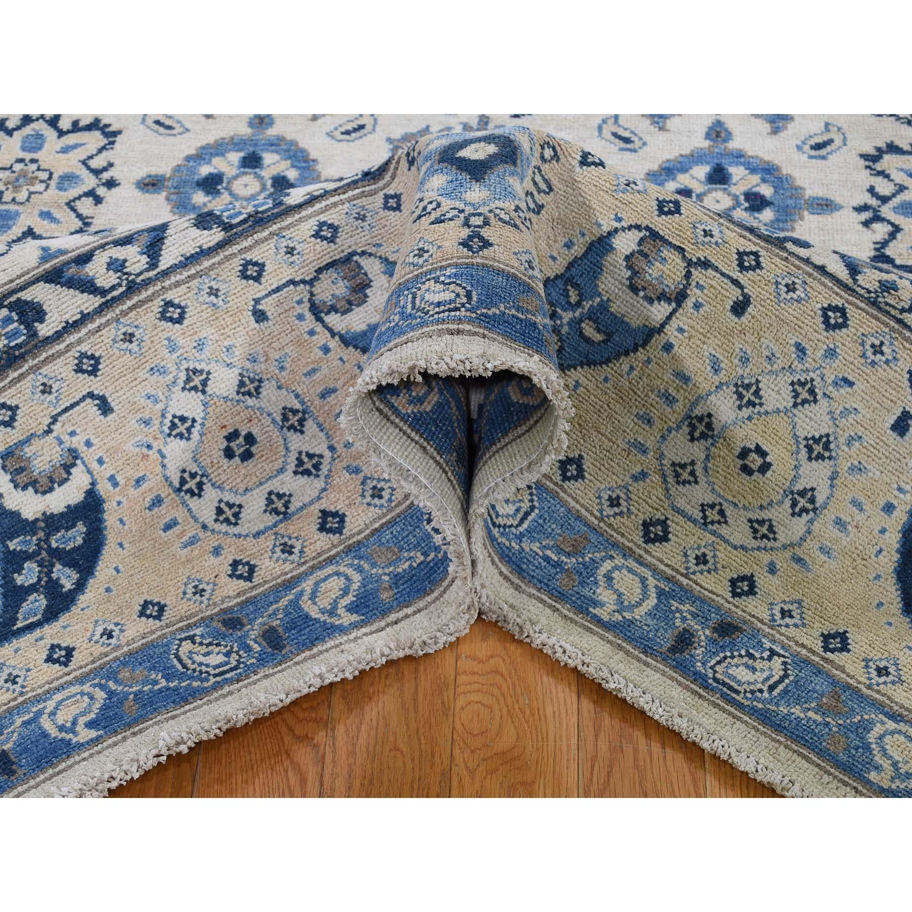 6-x9- Vintage Look Kazak Pure Wool Hand-Knotted Oriental Rug