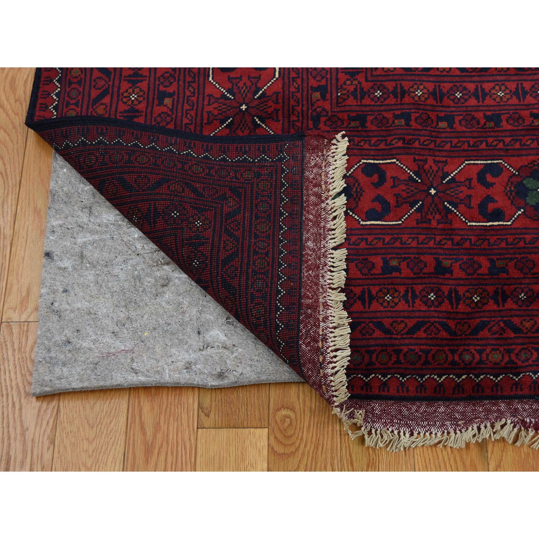 13-1 x19-8  Mansion Size Afghan Khamyab Pure Wool Hand Knotted Oriental Rug