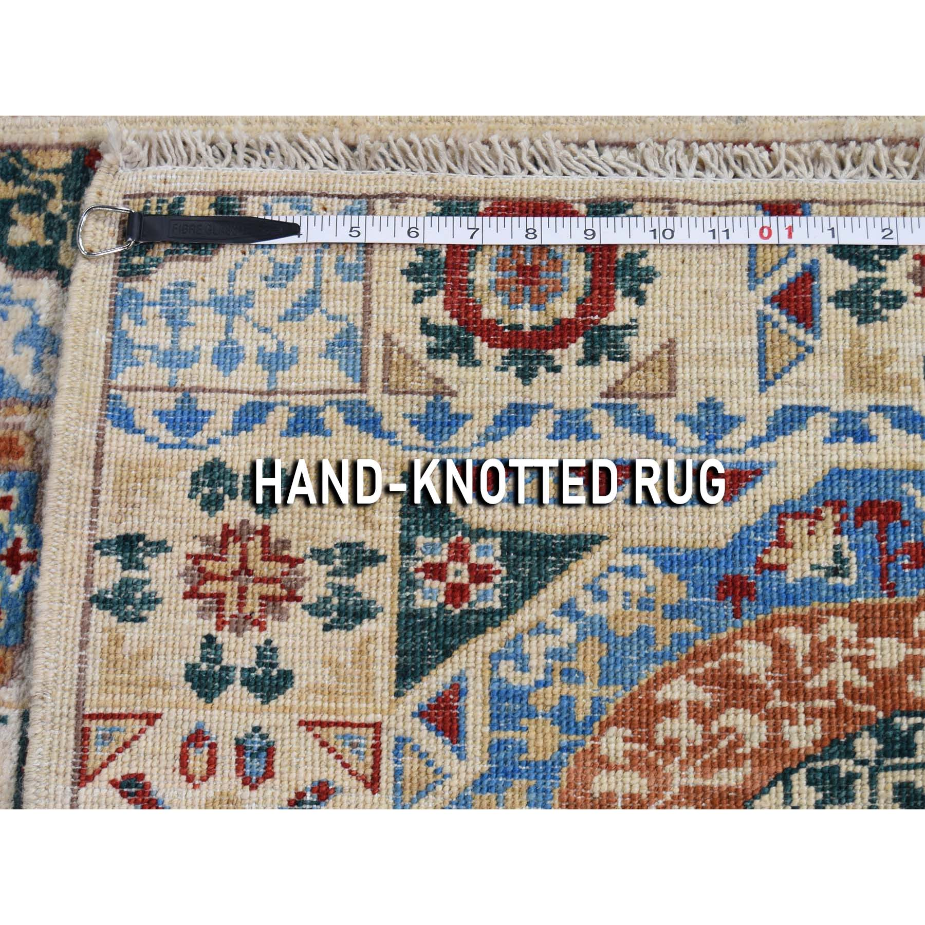 2-8 x17-2  Peshawar with Mamluk Design Runner Hand-Knotted Oriental Rug