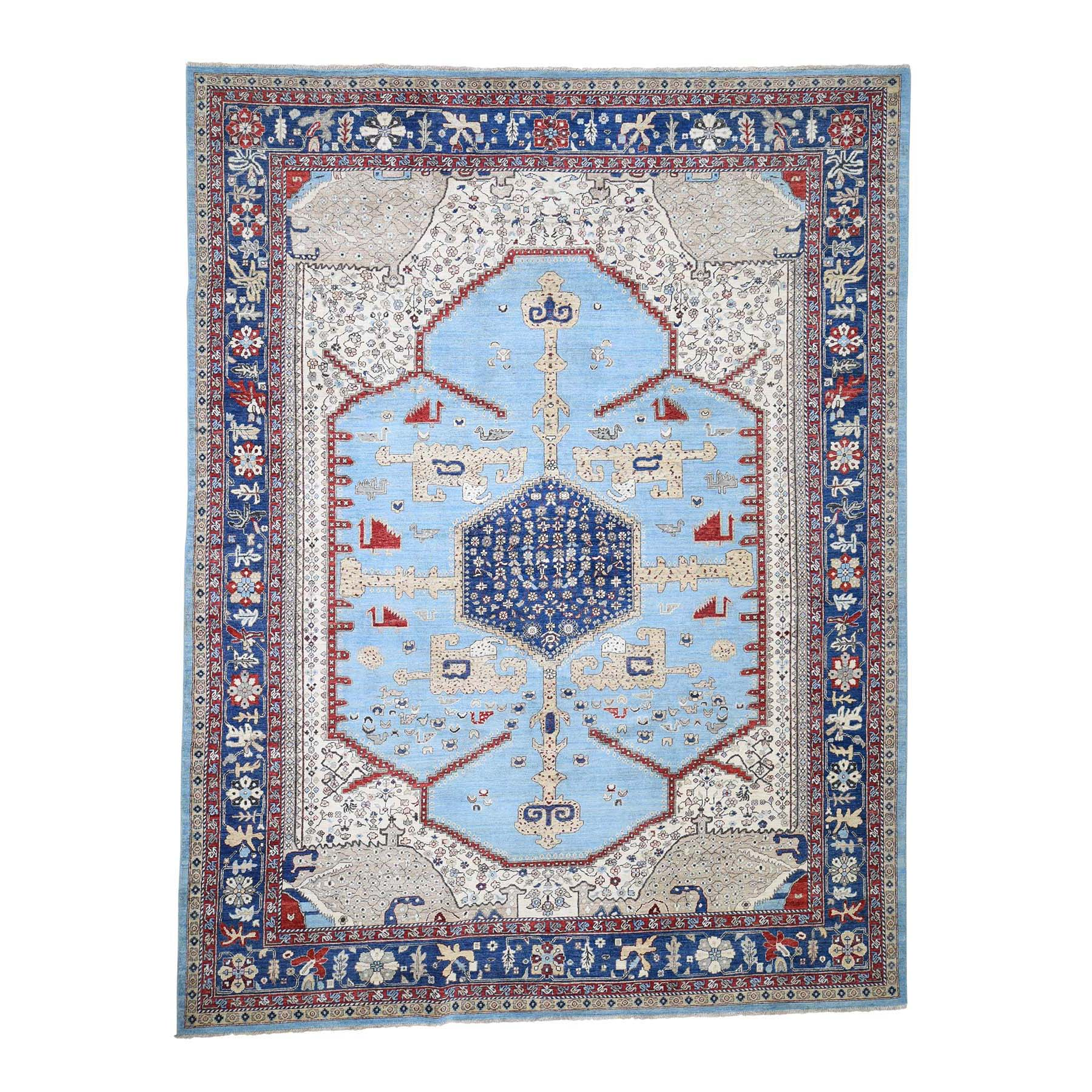 "9'3""X12' Antiqued Bakshaish High Kpsi Hand-Knotted Oriental Rug moadc8ce"