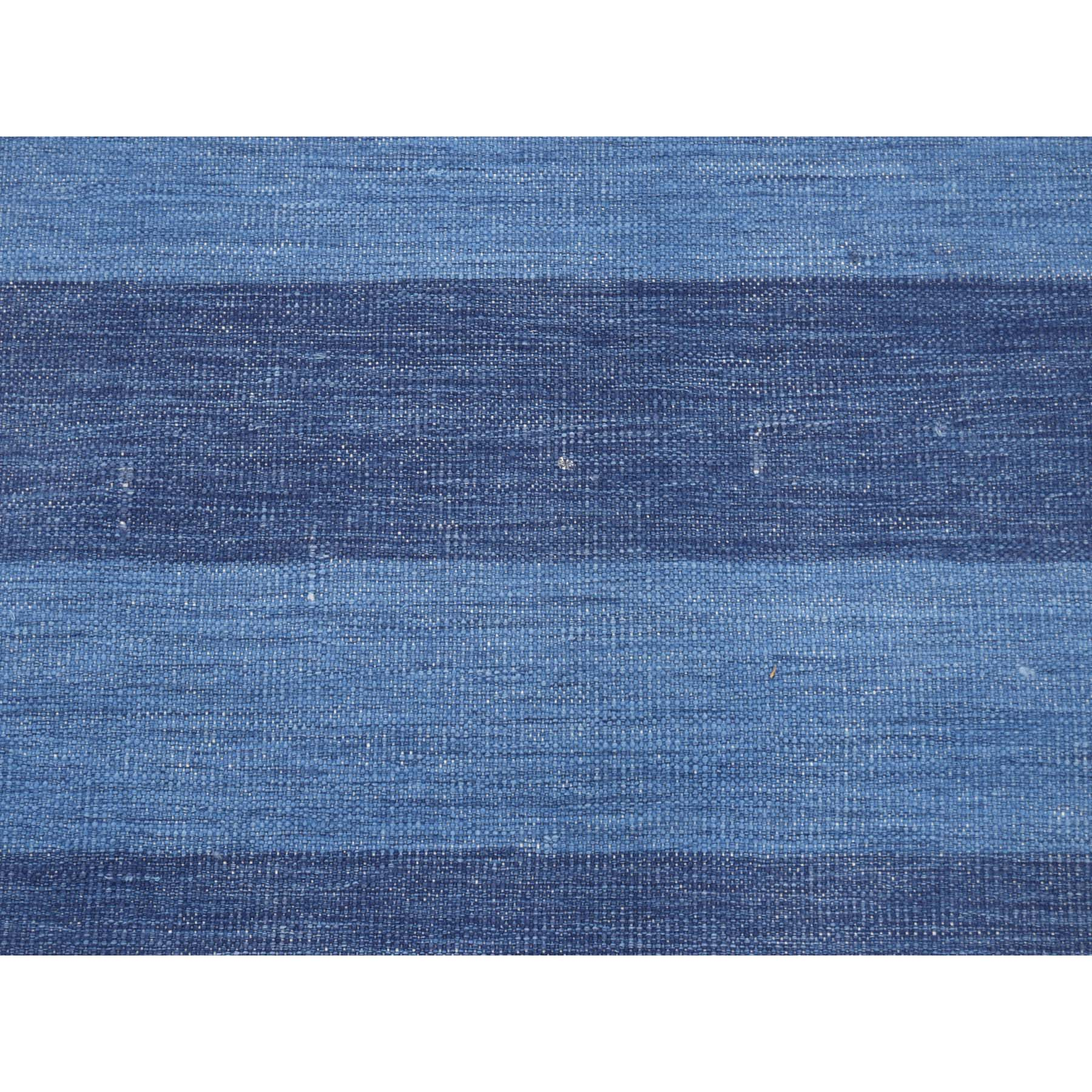 5-3 x7- Reversible Durie Kilim Flat Weave Pure Cotton Hand Woven Oriental Rug