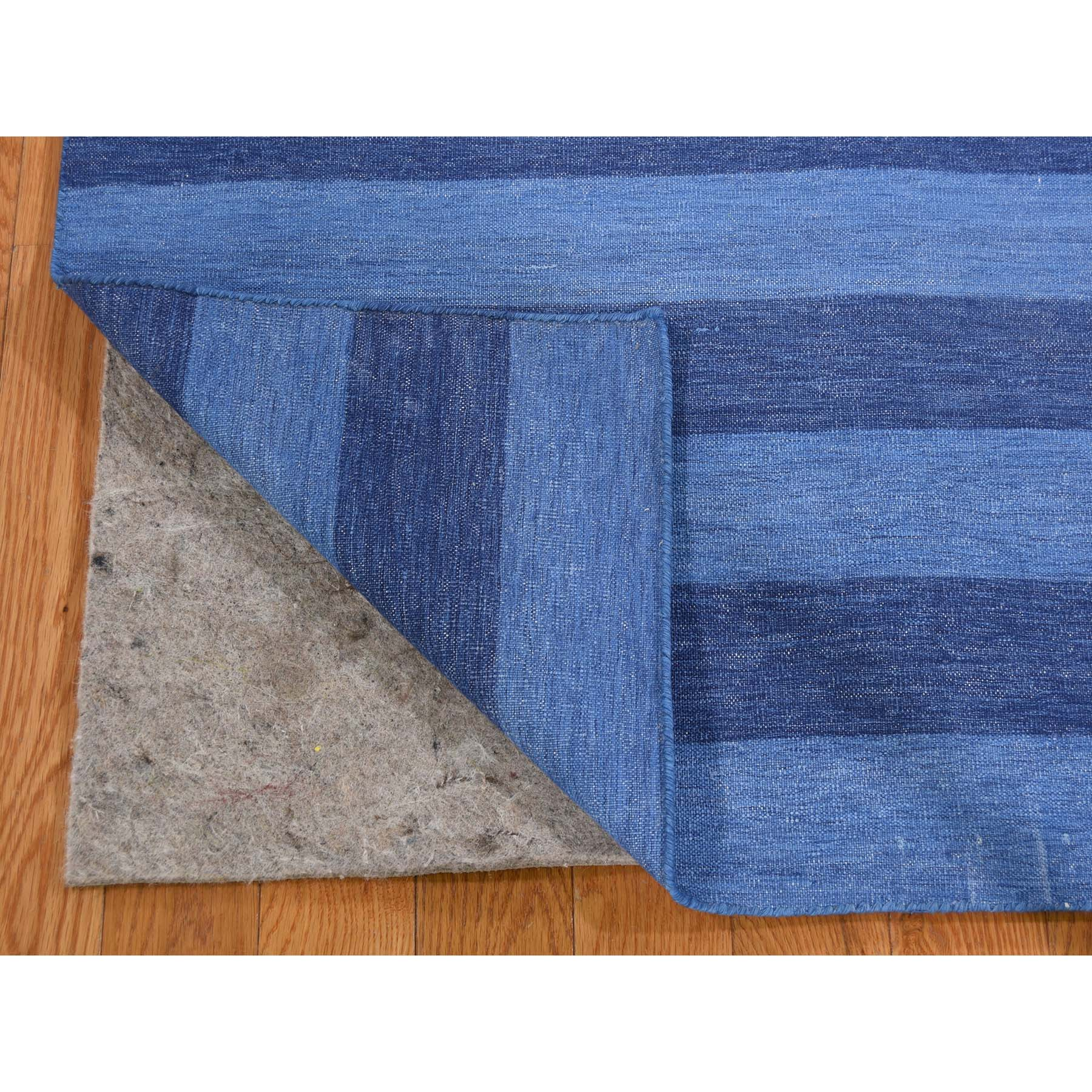 6-x9- Reversible Durie Kilim Flat Weave Pure Cotton Hand Woven Oriental Rug