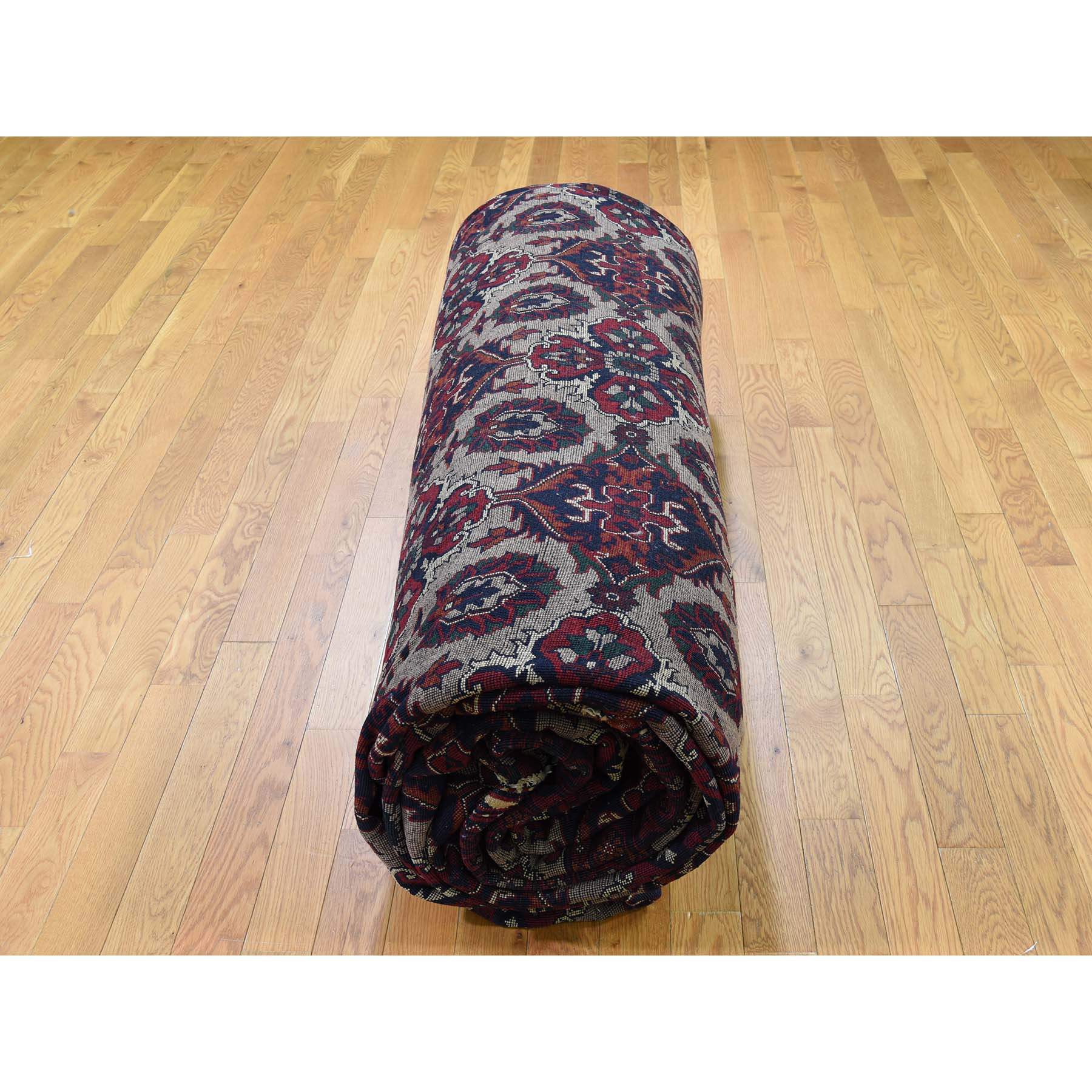 13-x19-4  Oversize Afghan Khamyab Hand-Knotted Pure Wool Oriental Rug
