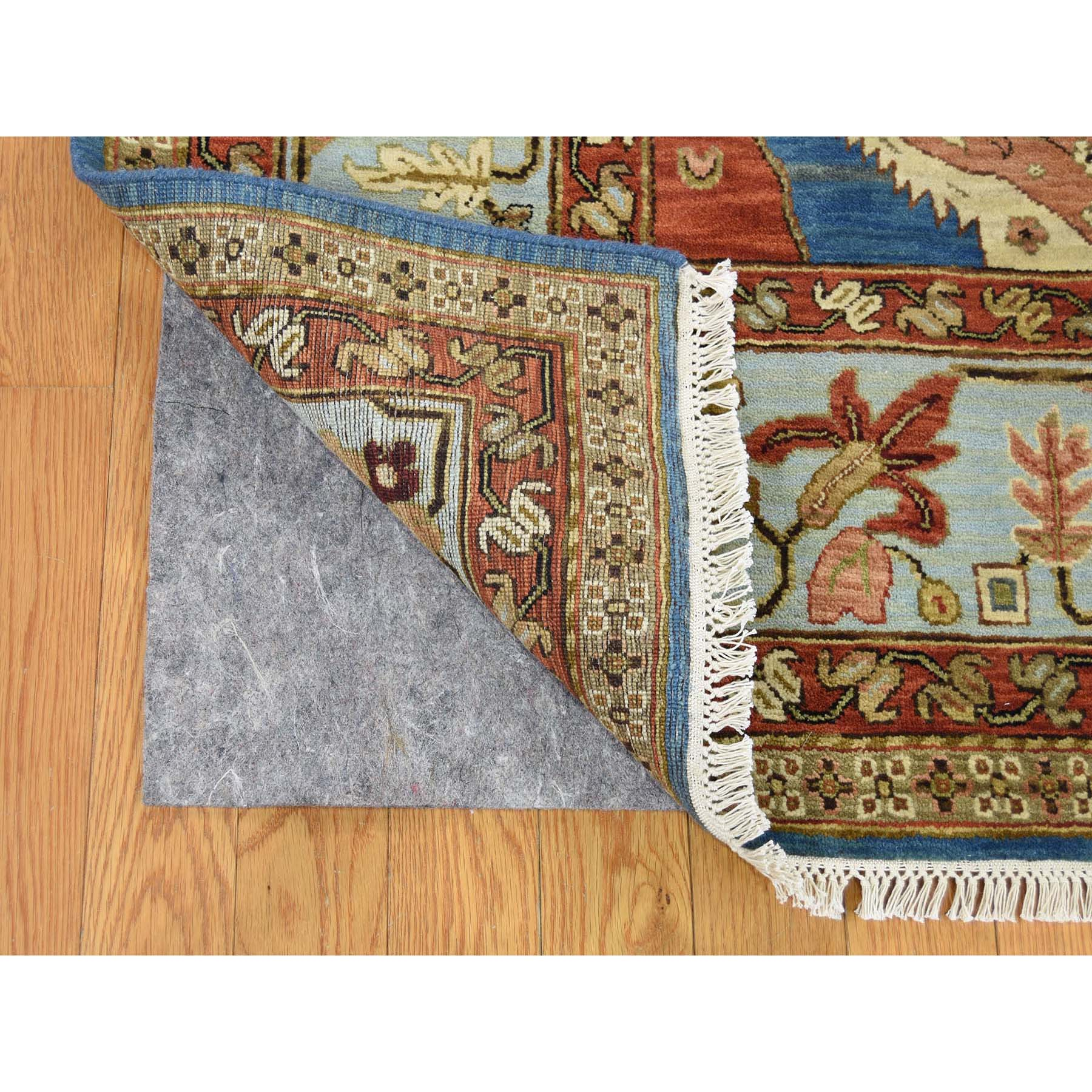 9-1 x11-8  Pure Wool Vegetable Dyes Bakshaish Hand-Knotted Oriental Rug
