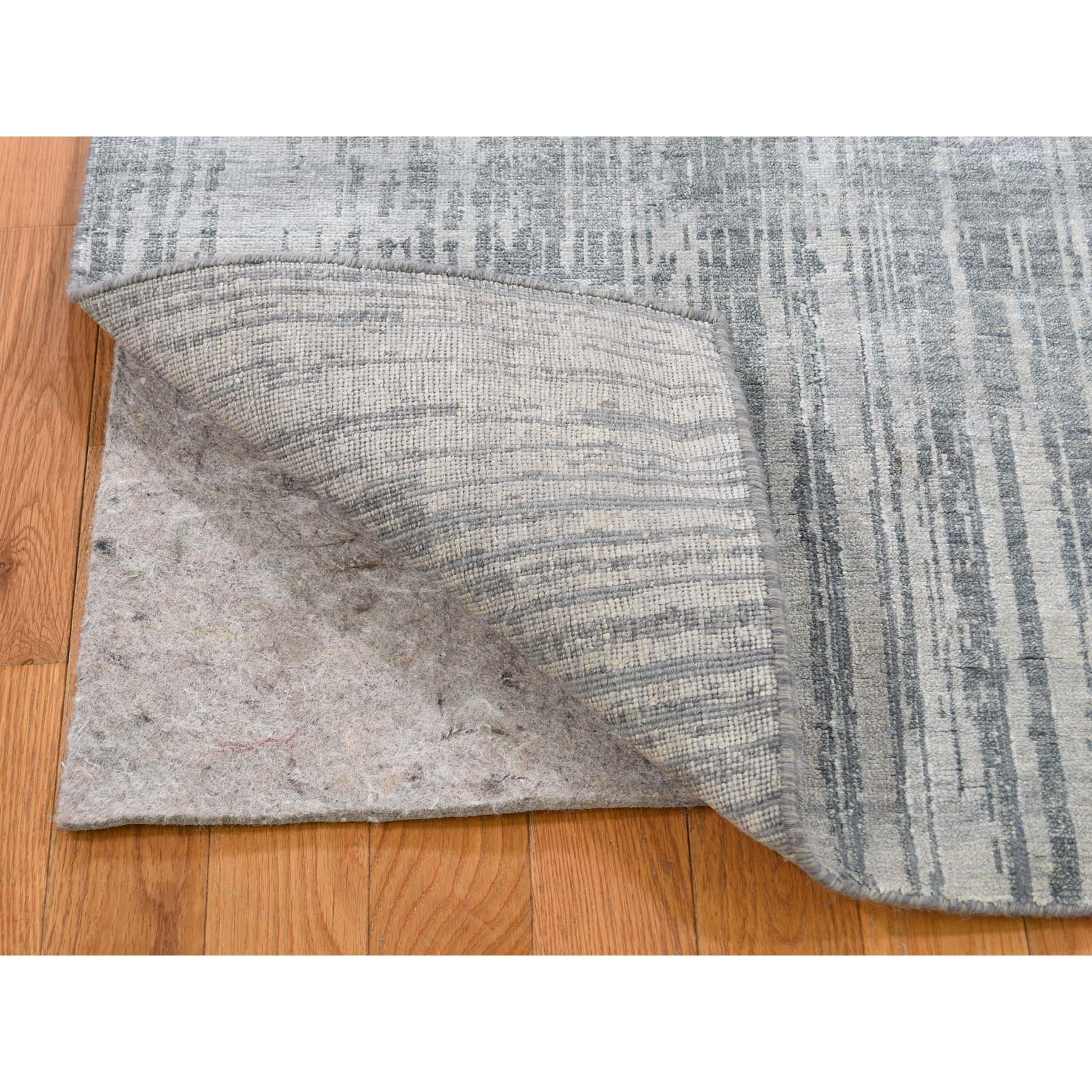 2-6 x7-10  Ombre Design Pure Silk Hand-Knotted Runner Oriental Rug