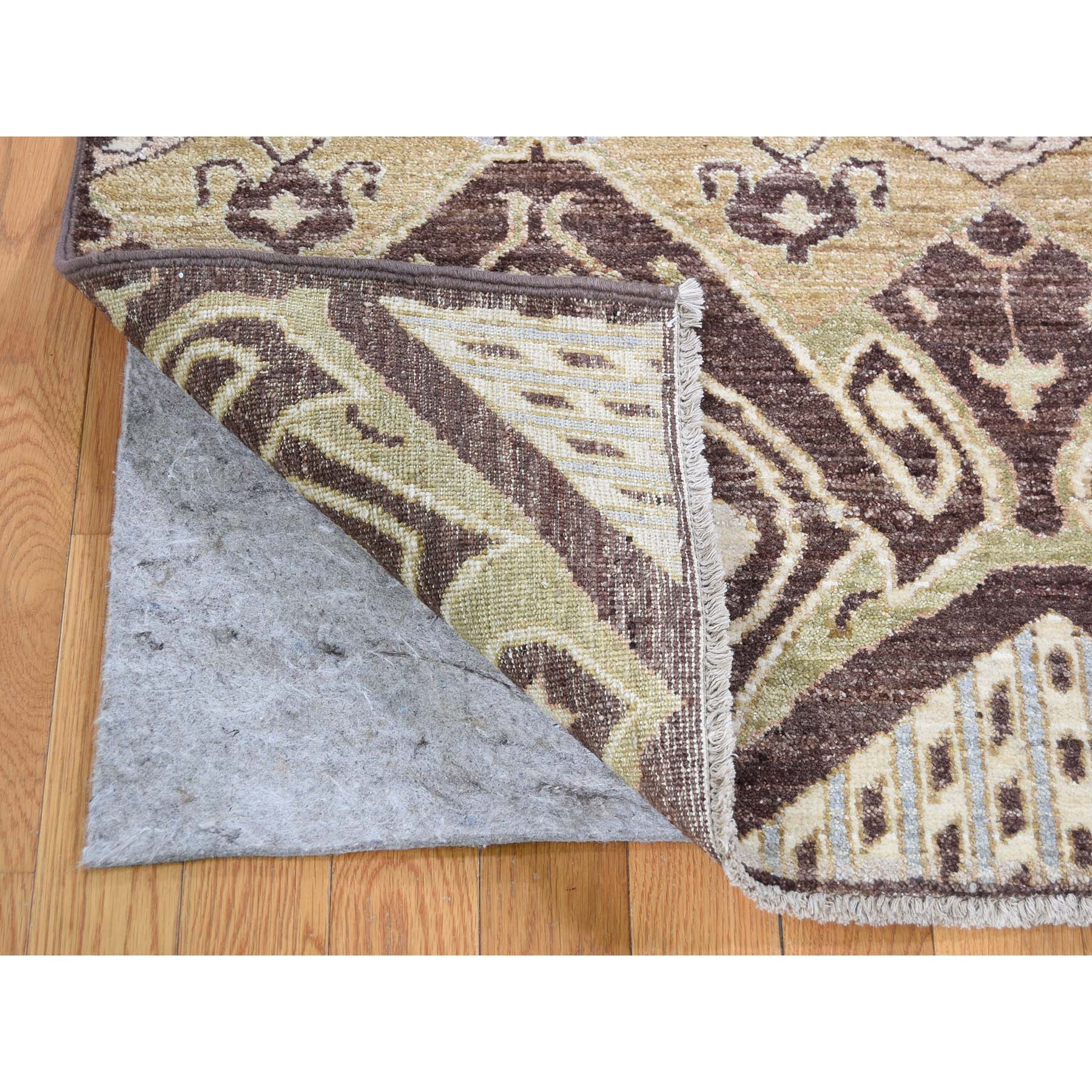 8-1 x10- kat Tribal and Geometric Design Pure wool Hand Knotted Oriental Rug