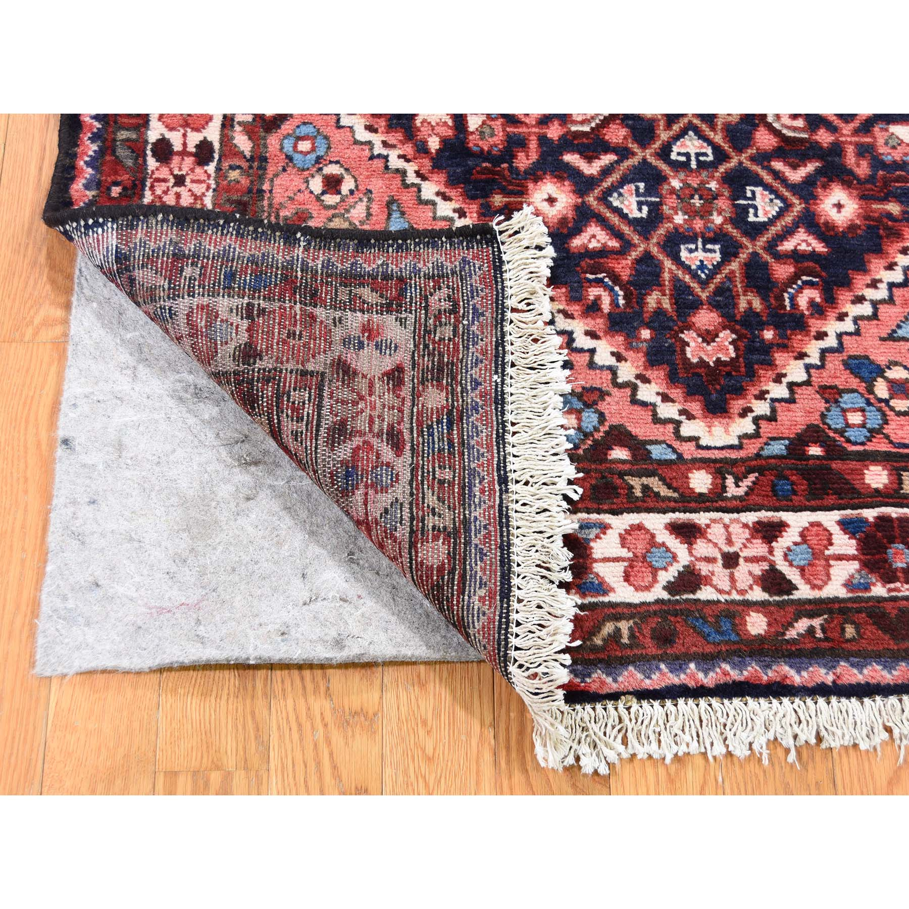 3-7 x5-2  Vintage Persian Lilihan Pure Wool Hand-Knotted Oriental Rug