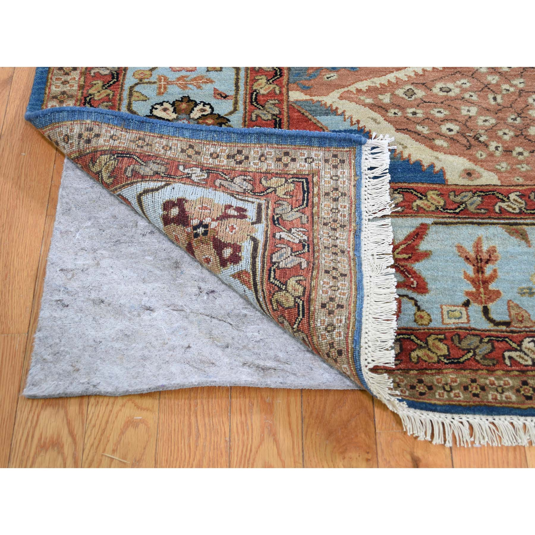 9-2 x11-7  Pure Wool Vegetable Dyes Bakshaish Hand-Knotted Oriental Rug