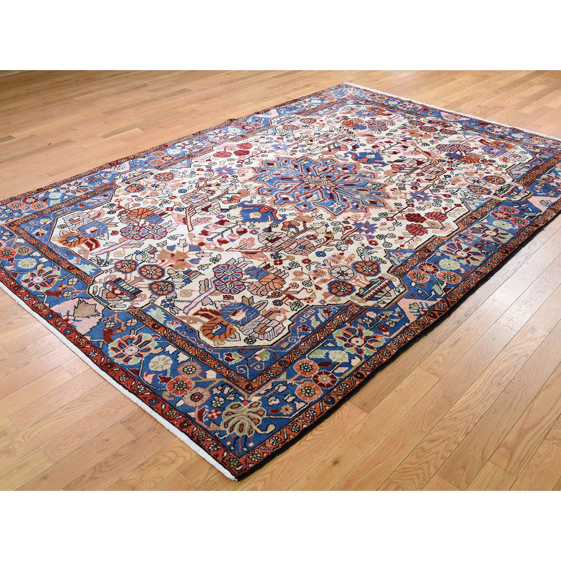 6-7 x9-7  New Persian Nahavand Hand-Knotted Oriental Rug