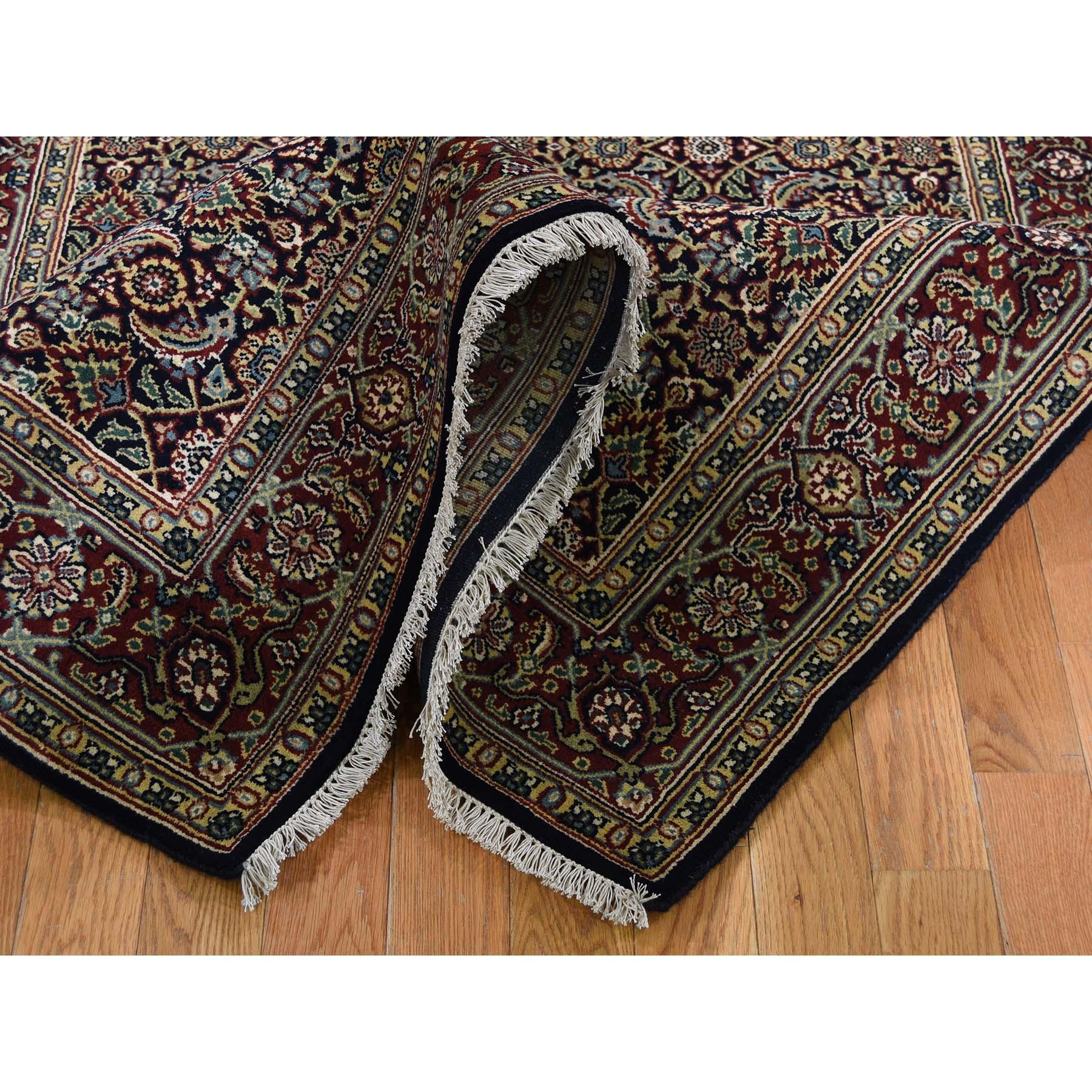 4-2 x19-10  Herati Wide Gallery Runner 300 KPSI  Hand-Knotted Oriental Rug