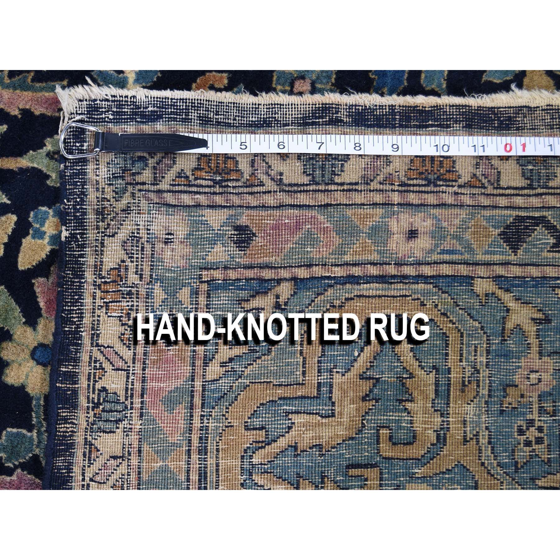 11-7 x17-8  Antique Maharaja Kashmir Oversized Willow Tree Design Hand-knotted Oriental Rug