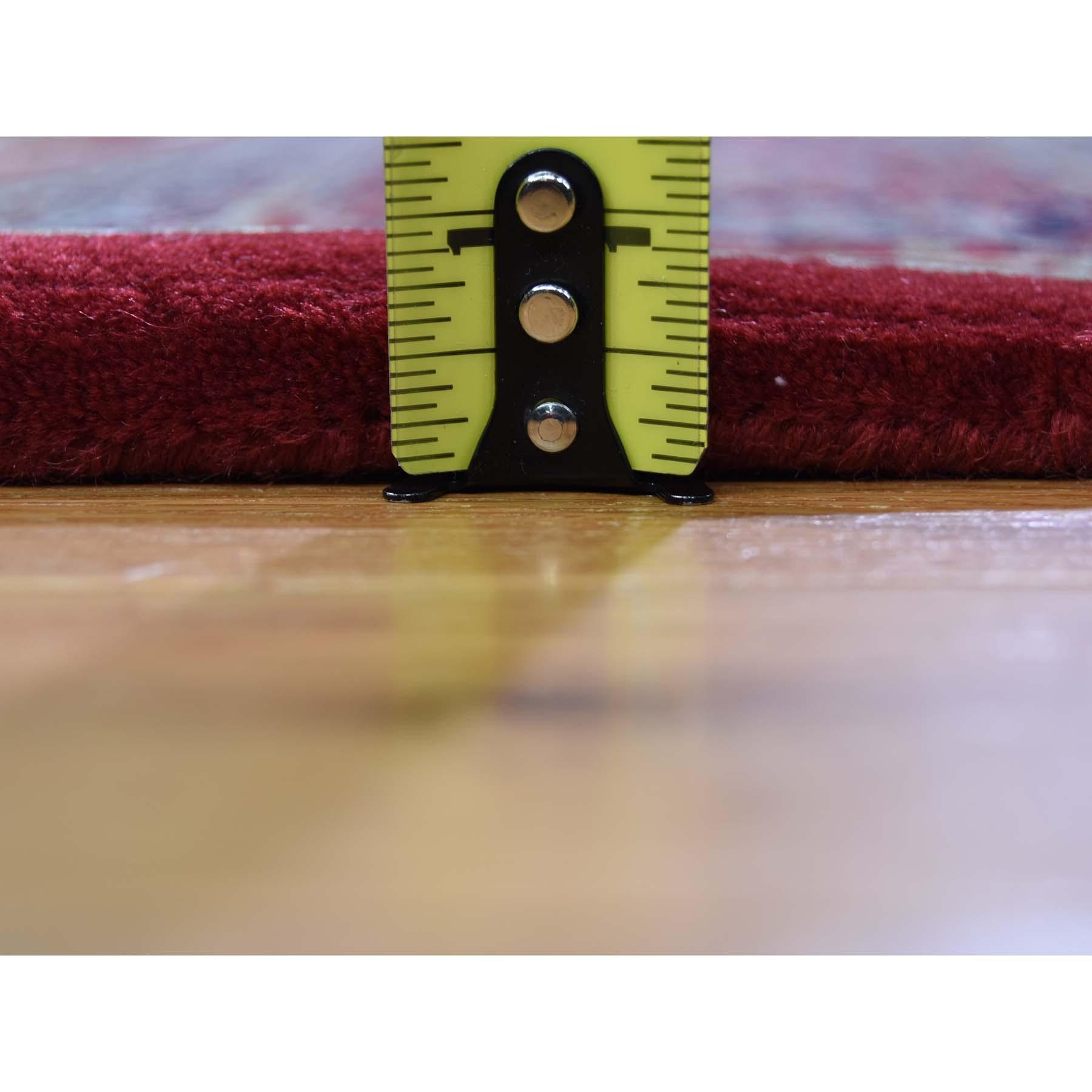 "6'10""x9'5"" Bijar Mahi 300 KPSI Wool and Silk Hand Knotted Oriental Rug"