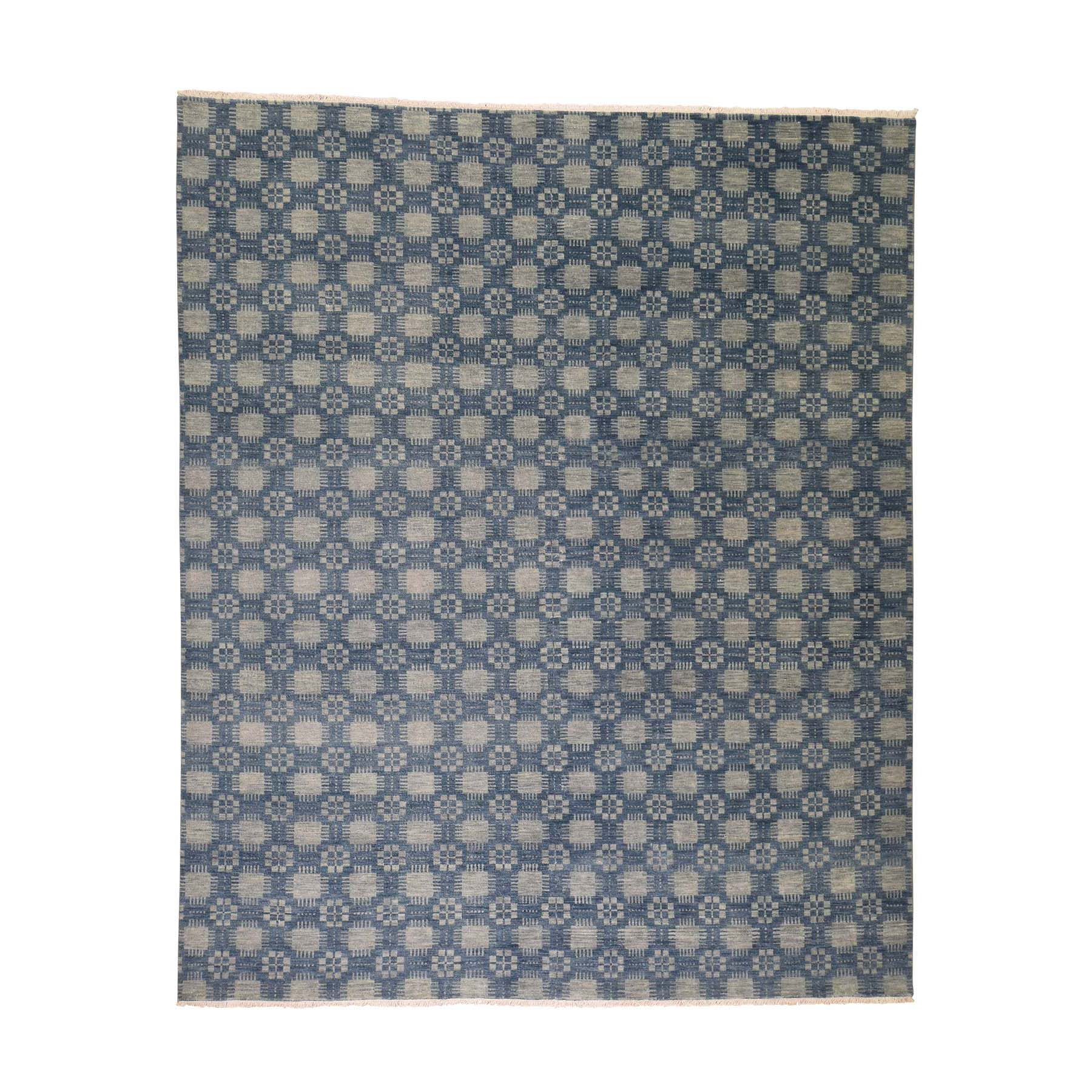"""8'X9'8"""" Modern Tone On Tone Pure Wool Hand Knotted Oriental Rug moadd766"""