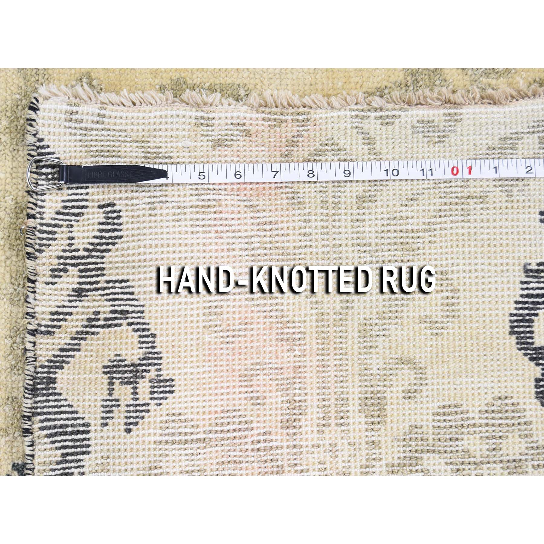 5-10 x8-7  Ikat Design Pure Wool Hand Knotted Oriental Rug