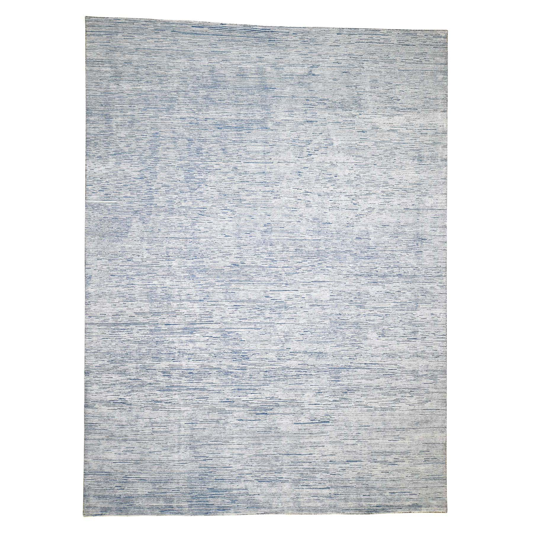 9'X12' Gabbeh Design Silk With Oxidized Wool Hand-Knotted Oriental Rug moadd8ab