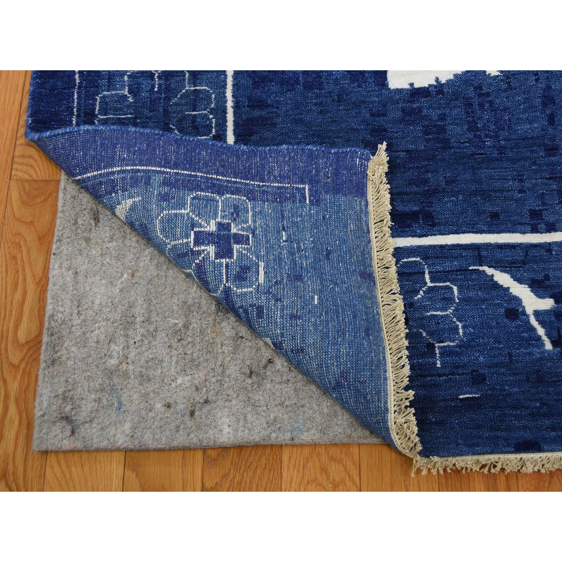 12-1 x18-2  Oversized Hand-Knotted Wool and Silk Tone on Tone Tabriz Oriental Rug