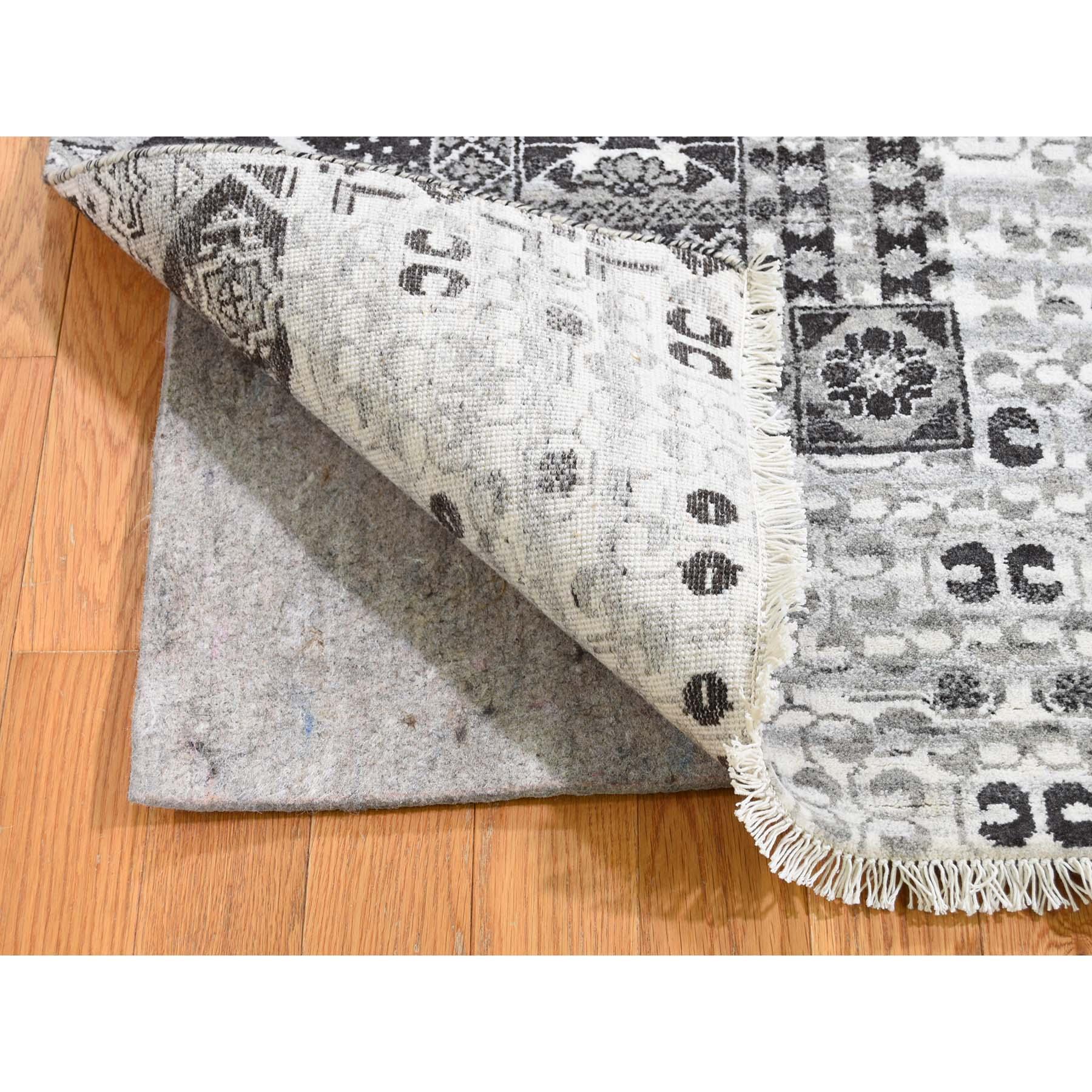 2-8 x3- Sampler Mamluk Design Pure Wool Hand-Knotted Oriental Rug
