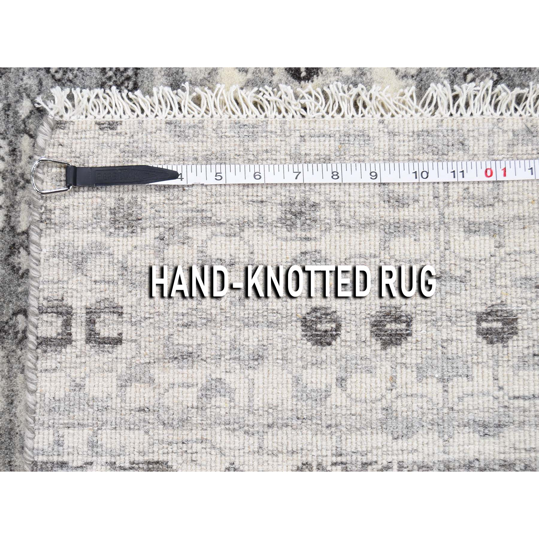 3-x3- Square Mamluk Sampler Organic Dyes Natural Color Hand-Knotted Oriental Rug