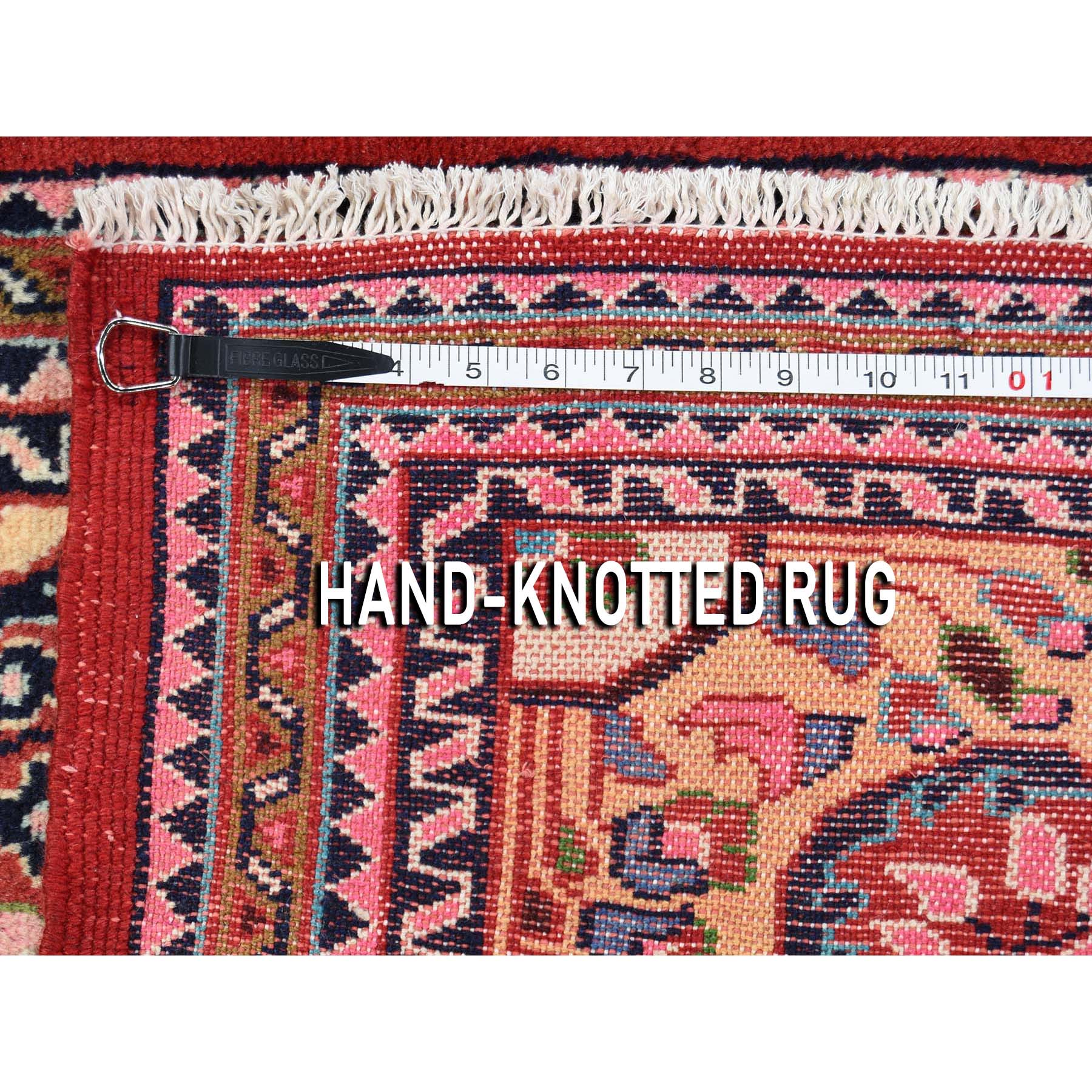 2-8 x4-3  Red New persian Lilahan Pure Wool Hand-Knotted Oriental Rug