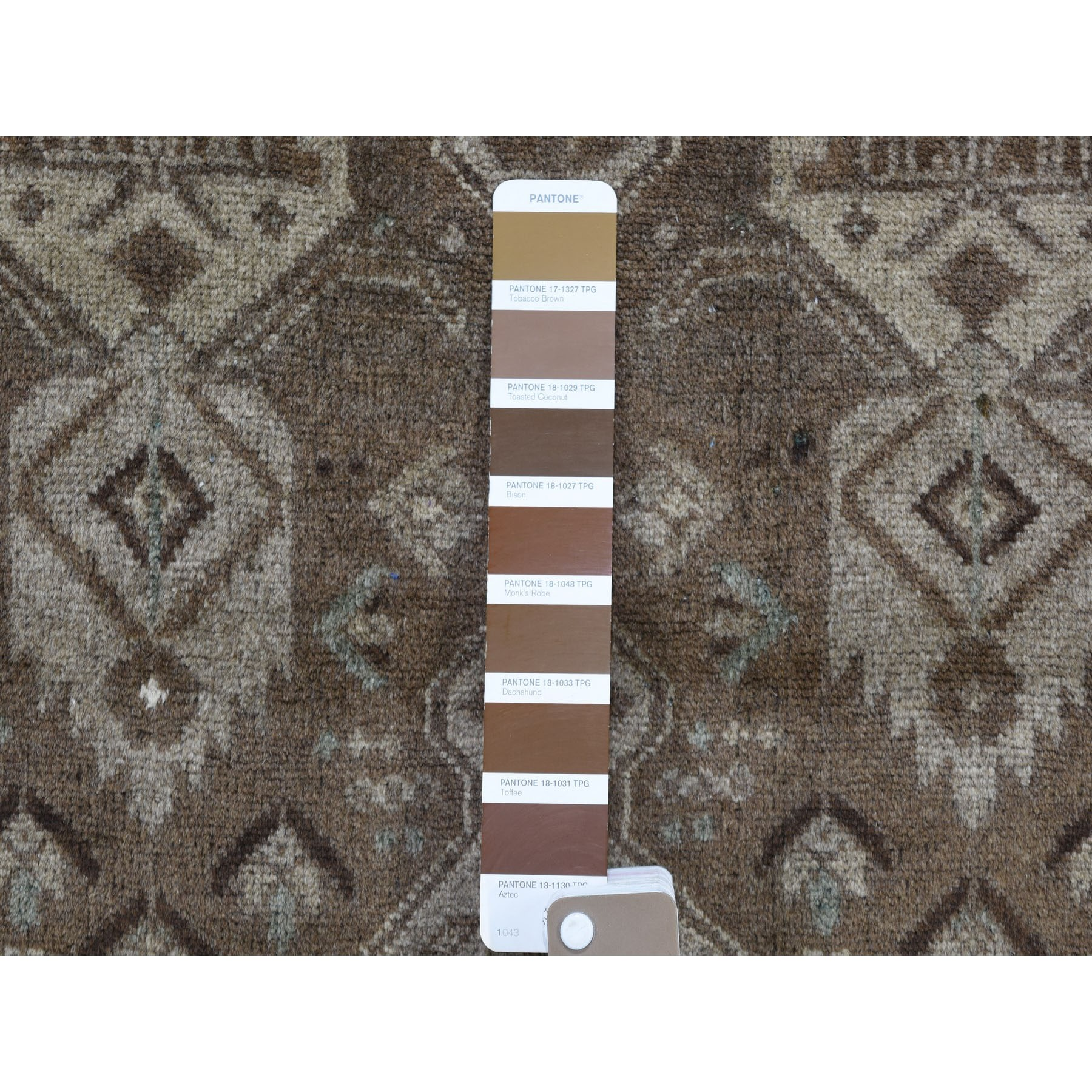 2-10 x9-2  Washed Out Afghan Baluch With Natural Colors  Pure Wool Runner Hand-Knotted Oriental Rug