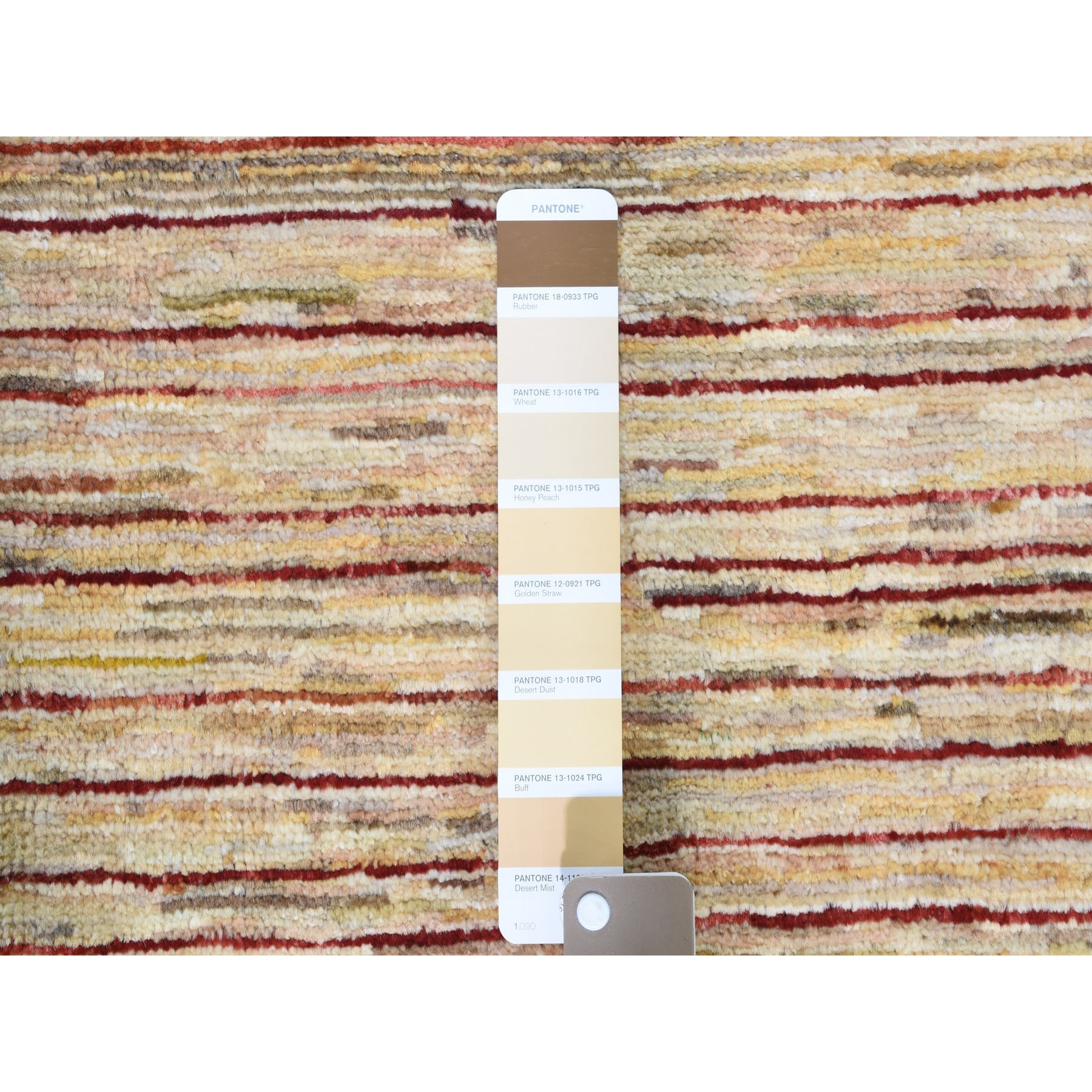 3-9 x6-  Colorful Peshawar Gabbeh Hand Knotted Oriental Rug