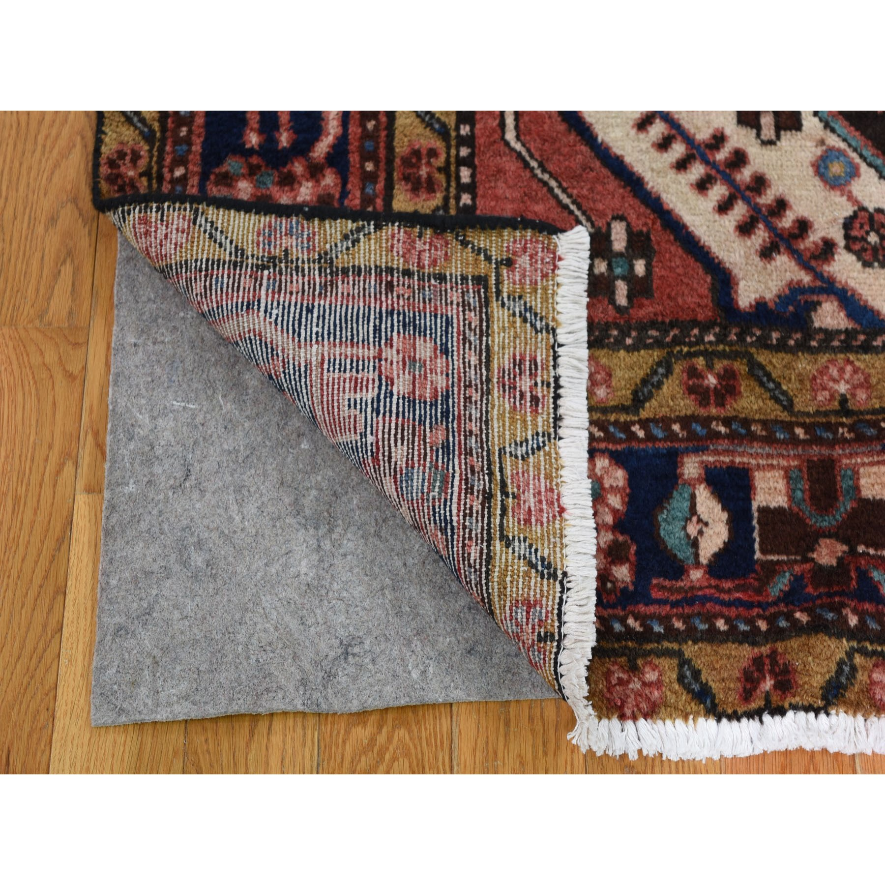 5-x10-3  Salmon New Persian Nahavand Pure Wool Hand Knotted Oriental Rug