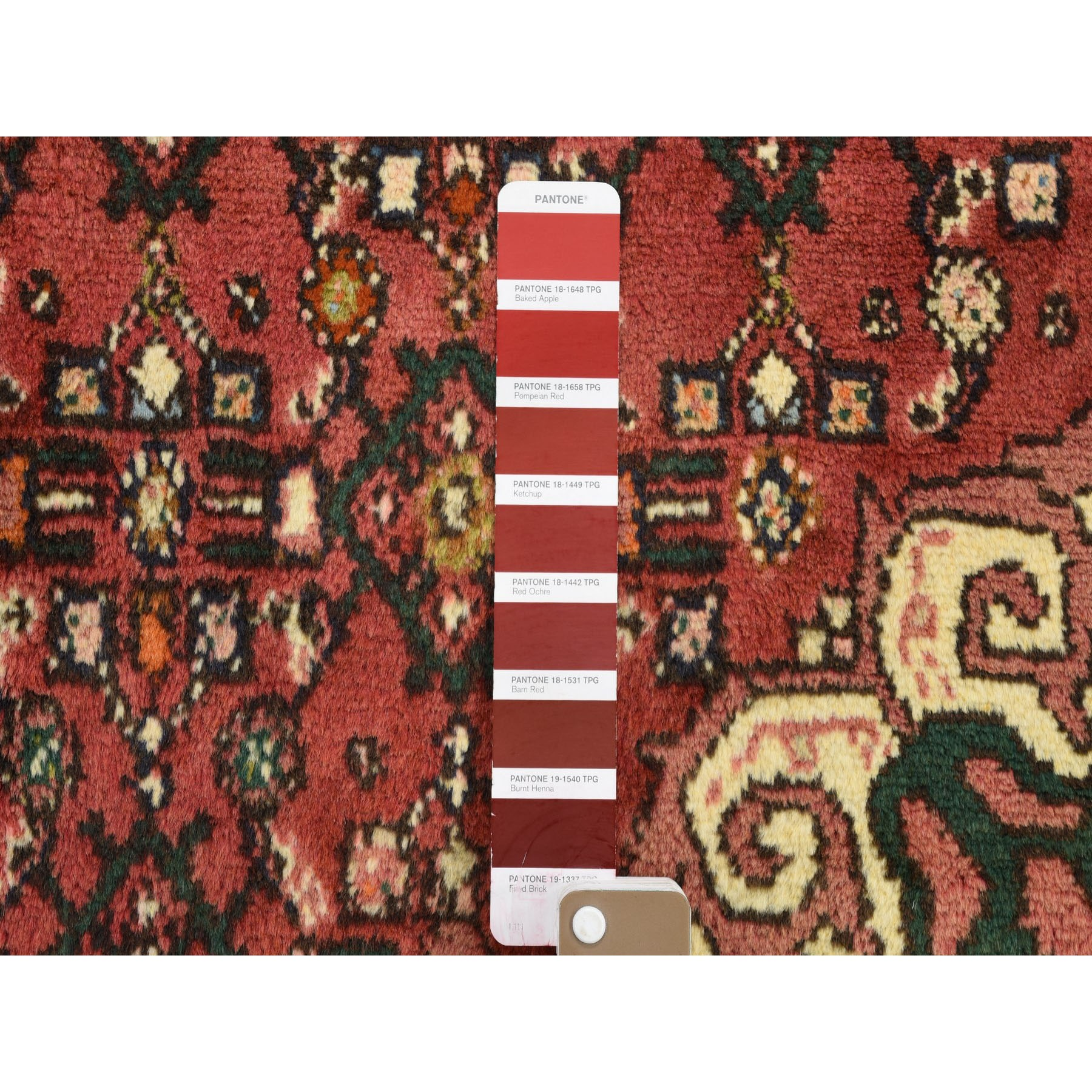 3-6 x4-10  Red New Persian Hamadan Pure Wool Hand Knotted Oriental Rug