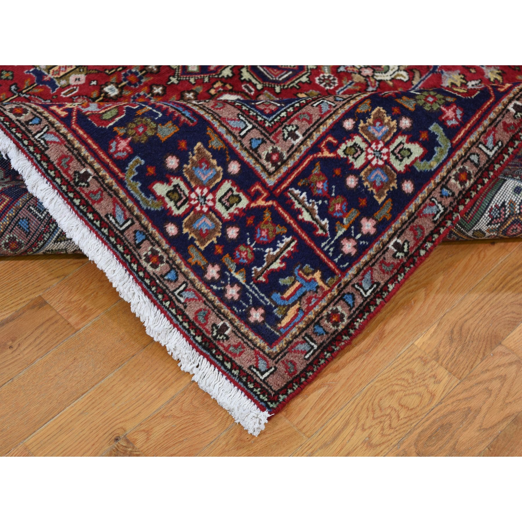 6-6 x9-8  Red New Persian Tabriz Pure Wool Hand Knotted Oriental Rug