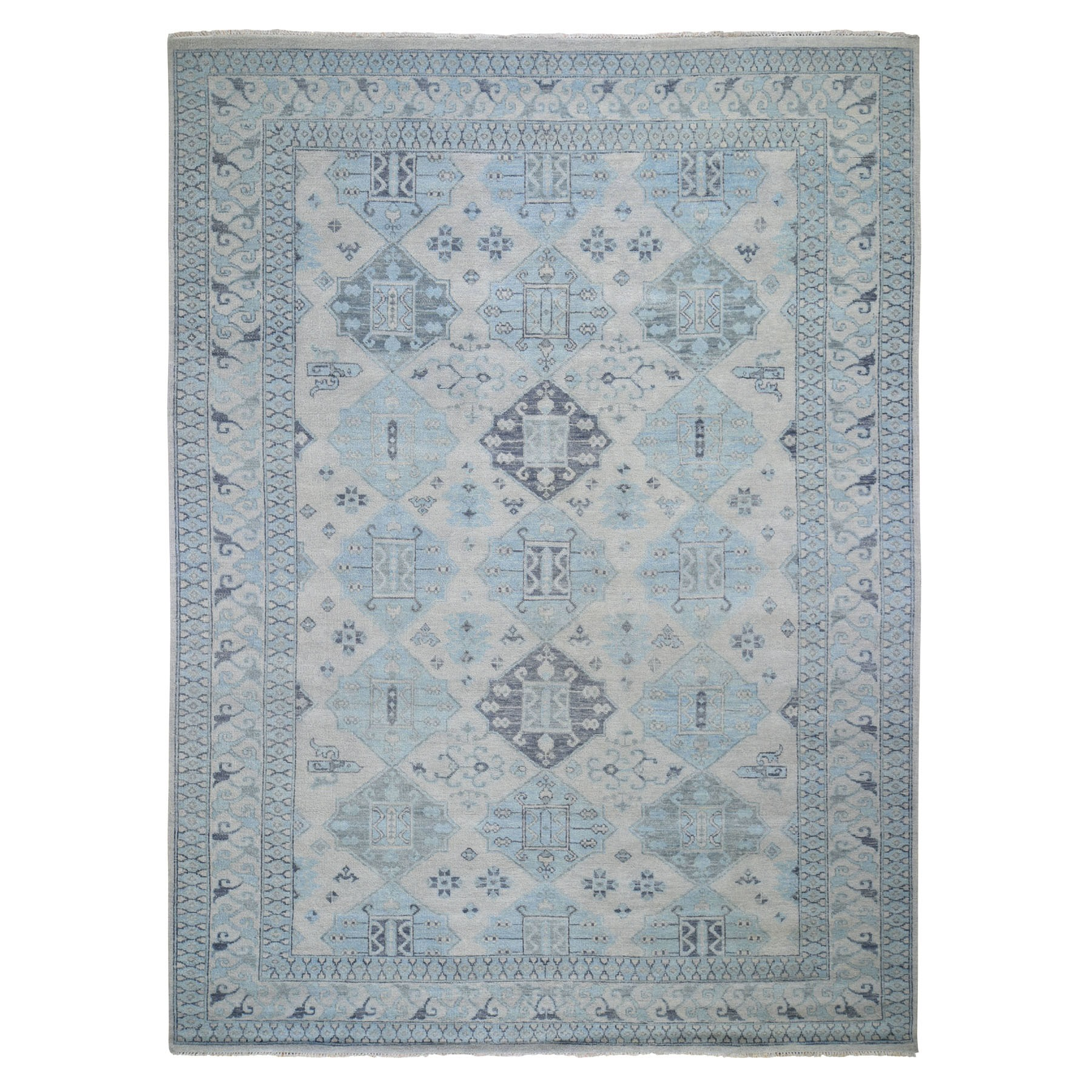 "9'10""X13'8"" Supple Collection With Anatolia Design Soft Wool Hand Knotted Oriental Rug moad8bb0"