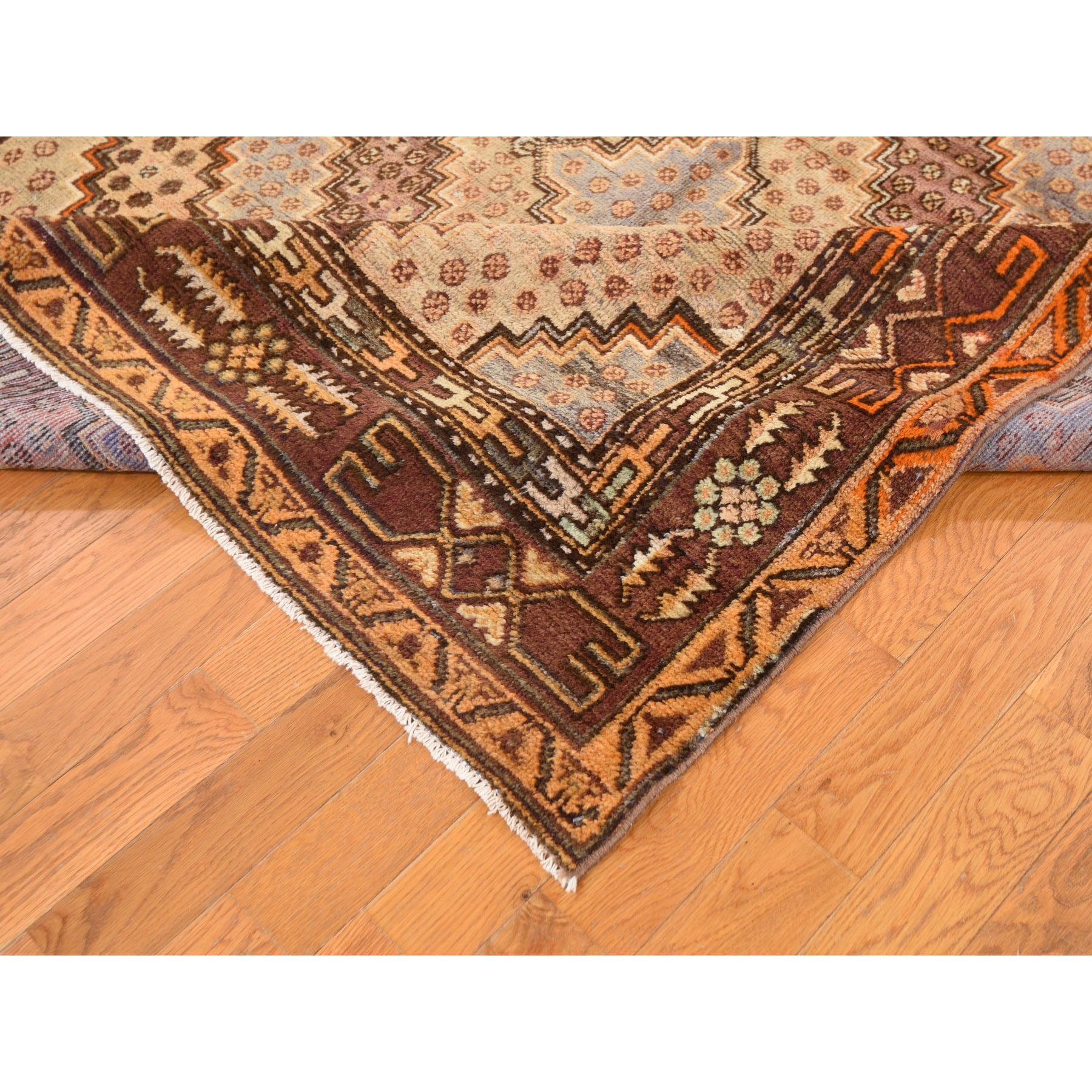 5-5 x10-8  Gallery Size Antique Khotan Full Pile Hand Knotted Oriental Rug