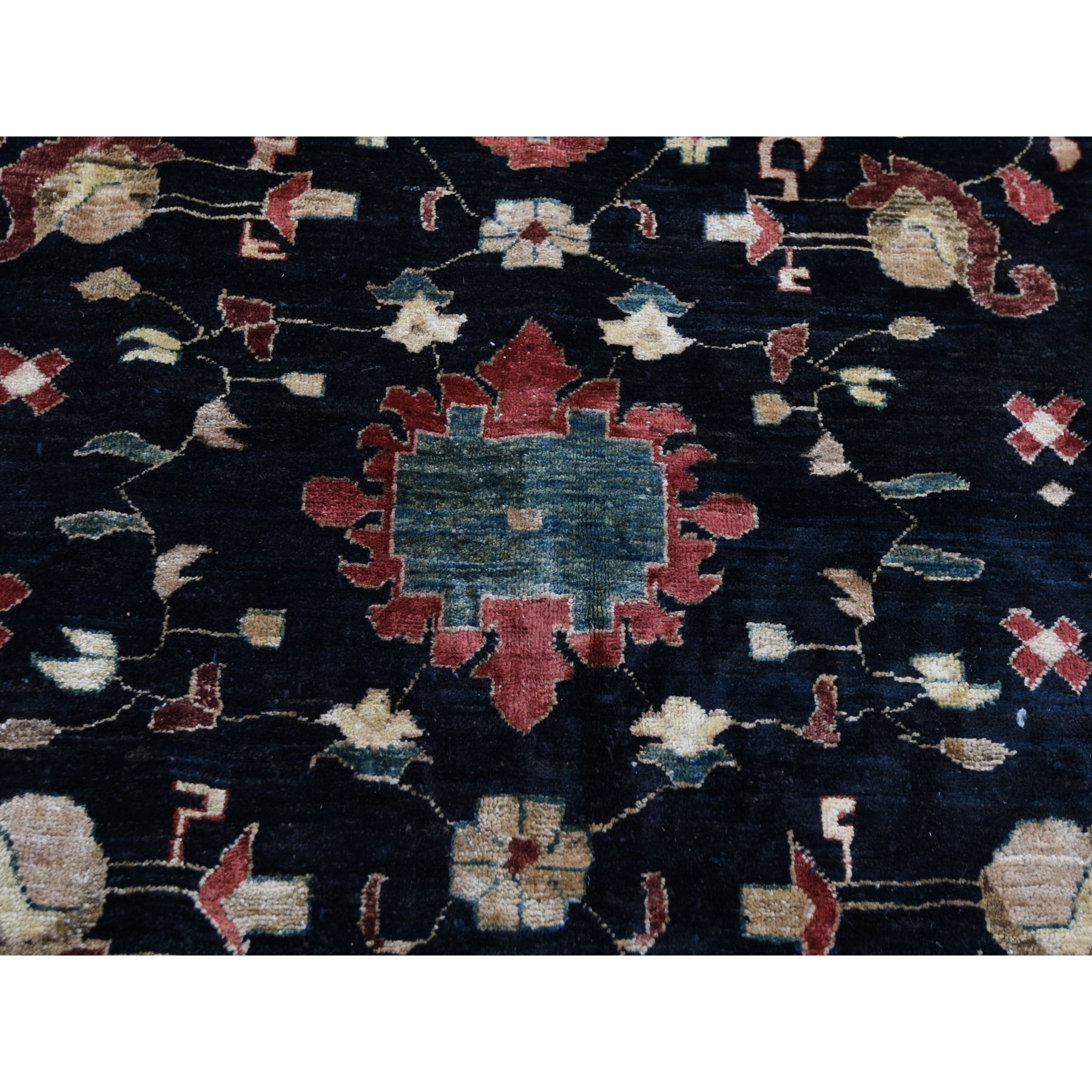 "12'x16'5"" On Clearance Black Oversized Ziegler Mahal Persian Hand Knotted Oriental Rug"